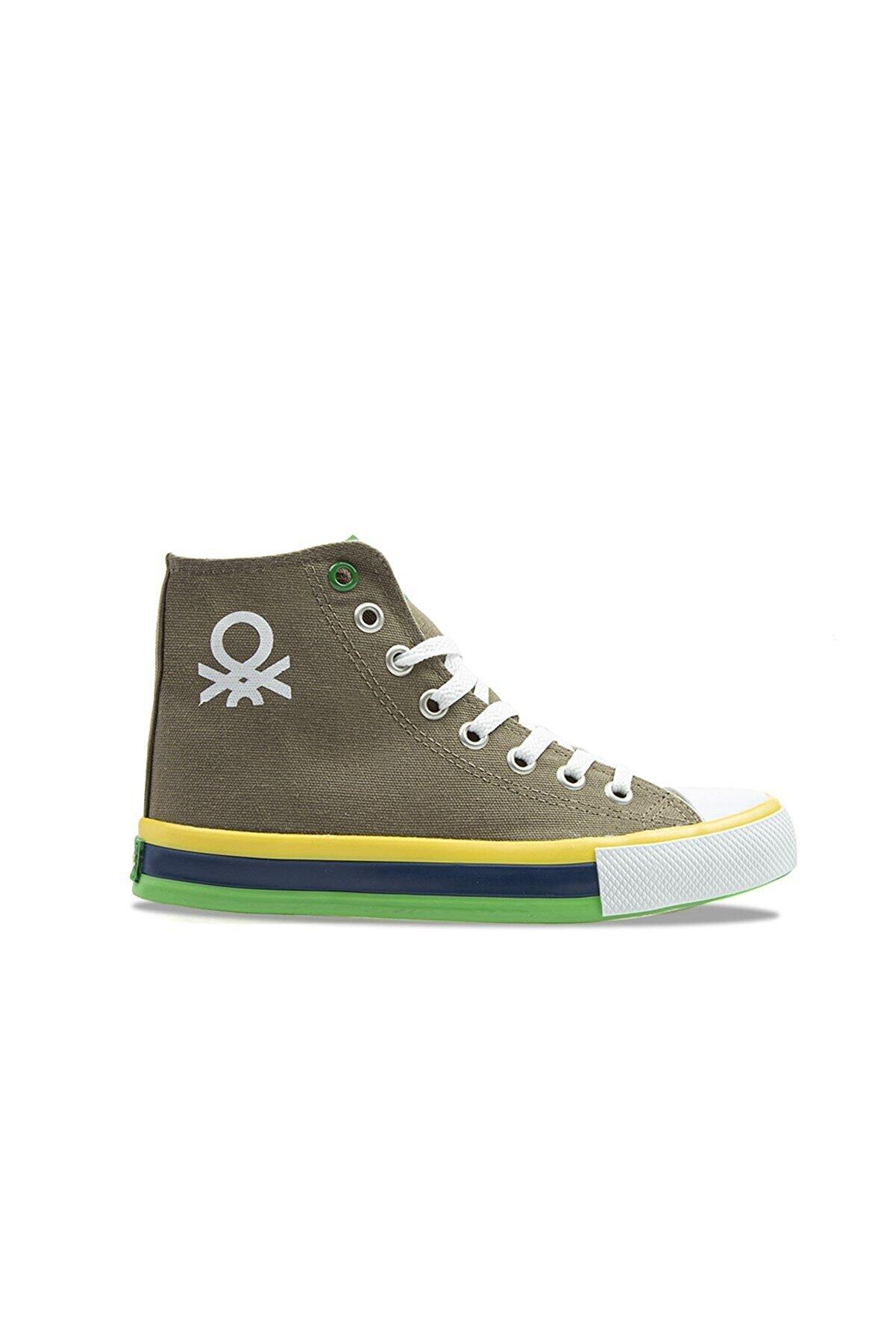 Benetton Kadın Haki Spor Ayakkabı