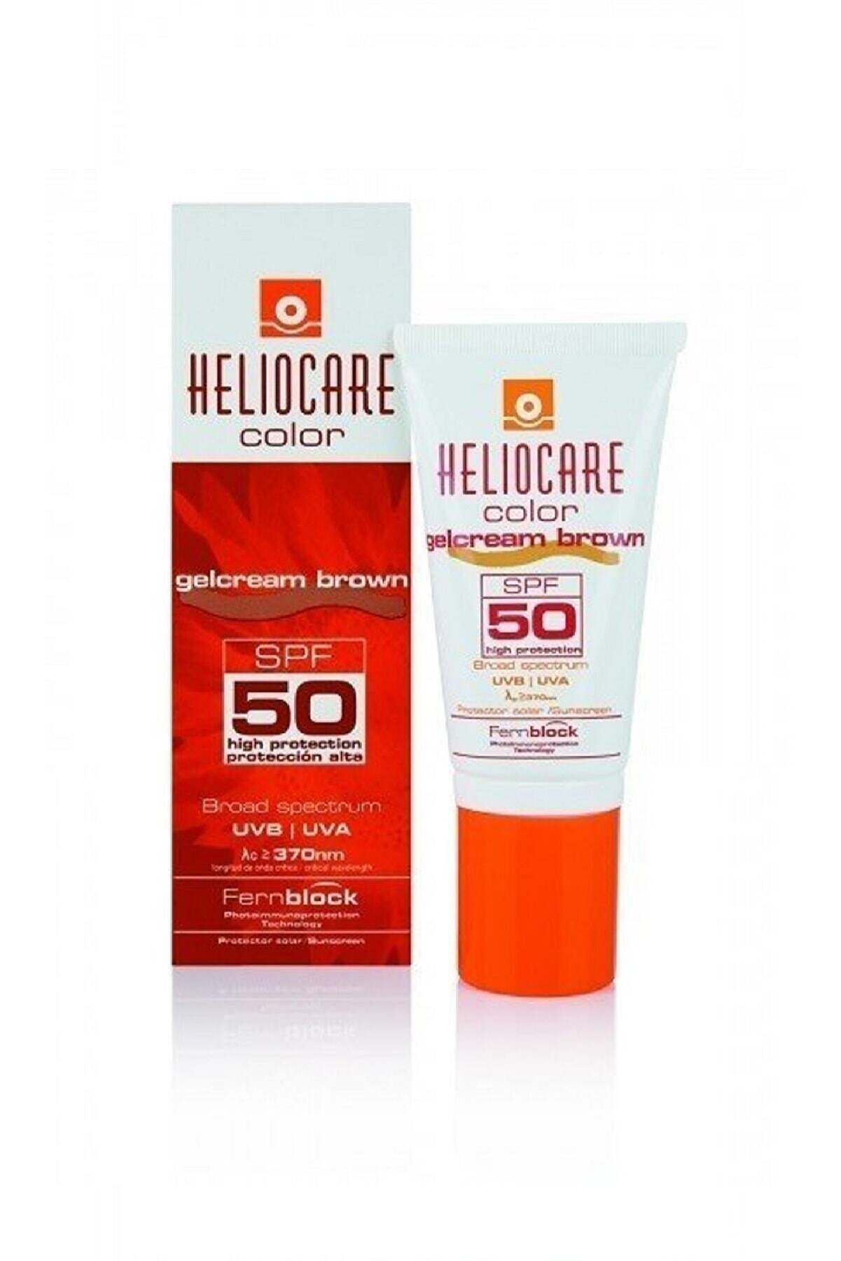 Heliocare Color Spf50 Gelcream Brown 50 ml