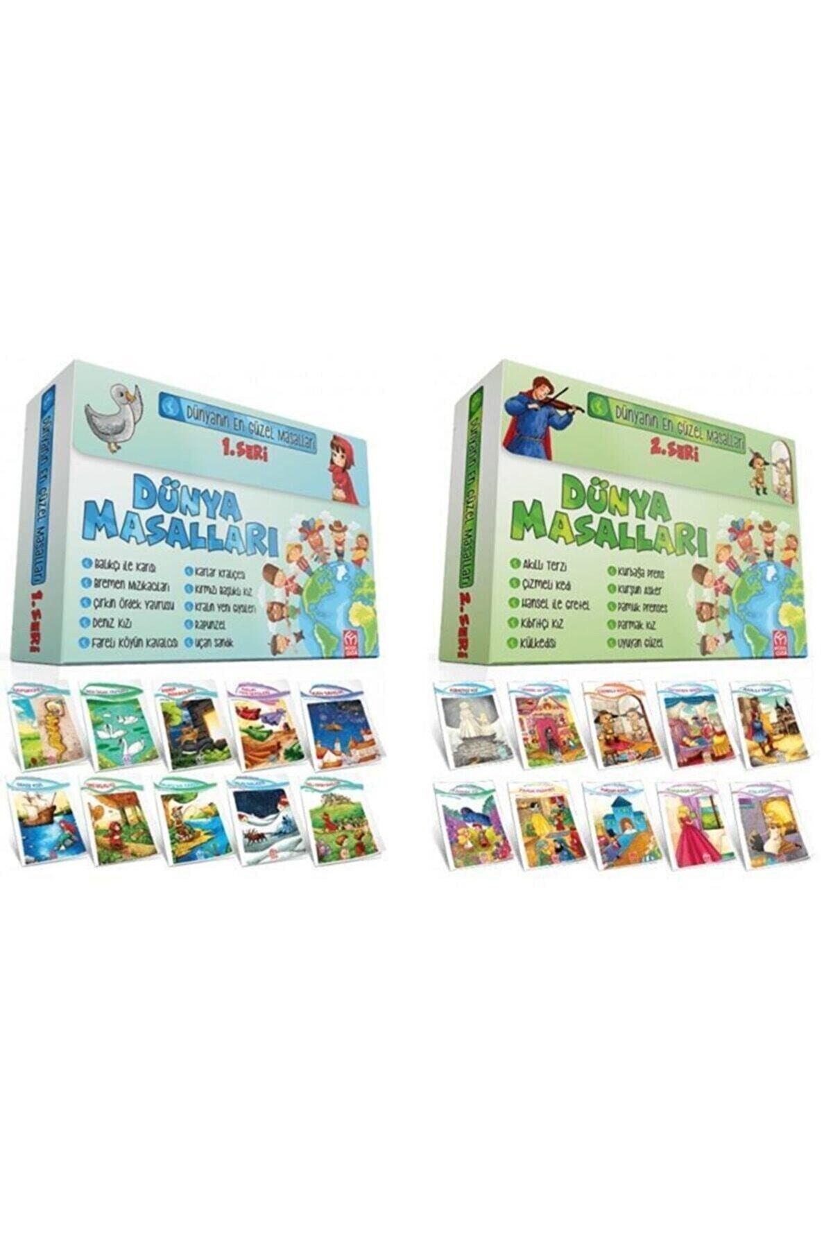 Model Yayınları Model 1. Sınıf Dünya Masalları Seti 20 Kitap