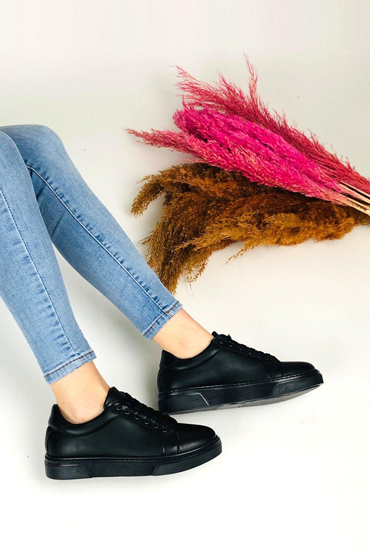BELPİNO Siyah Sneaker