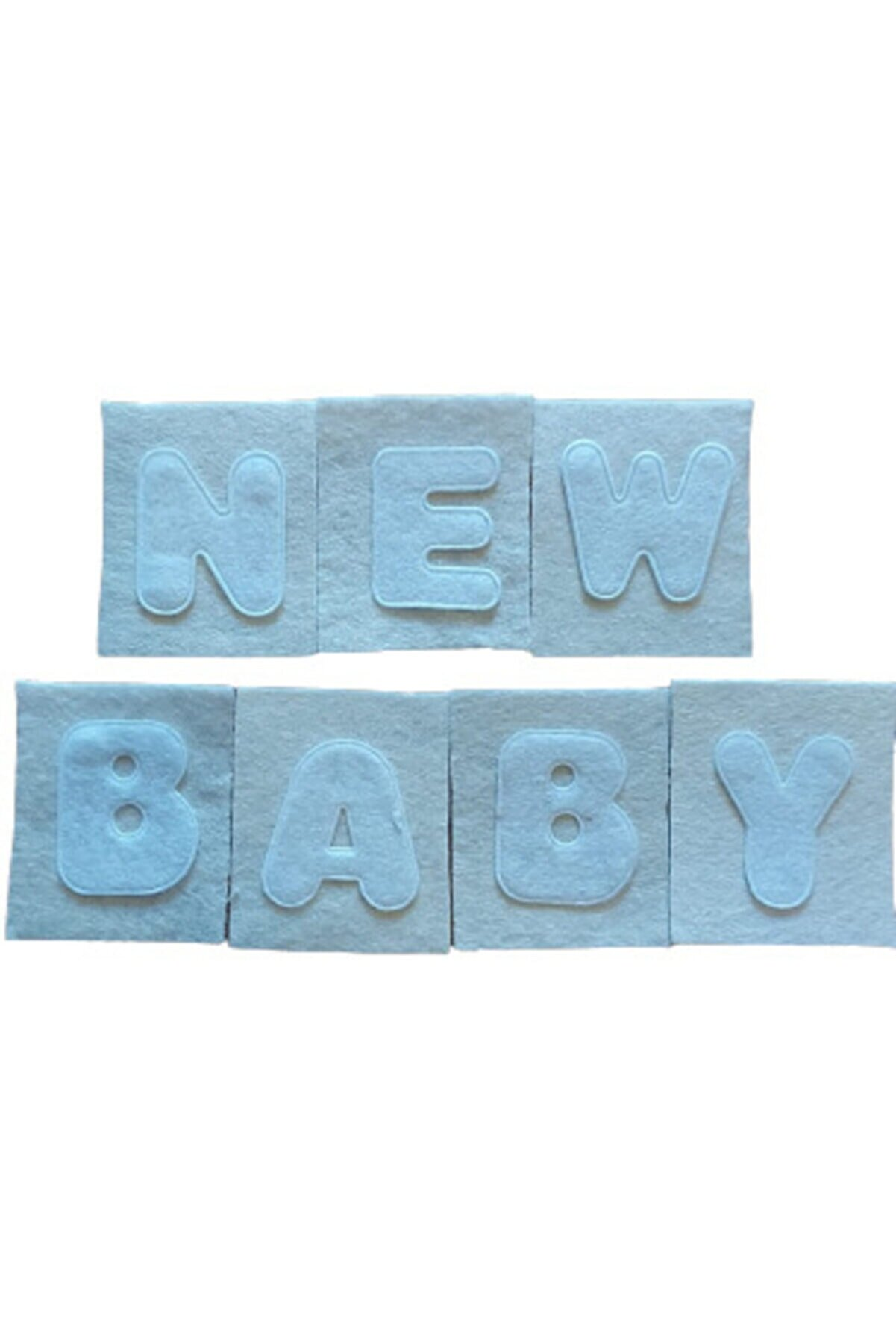 PastaLife New Baby Keçe Harf Seti