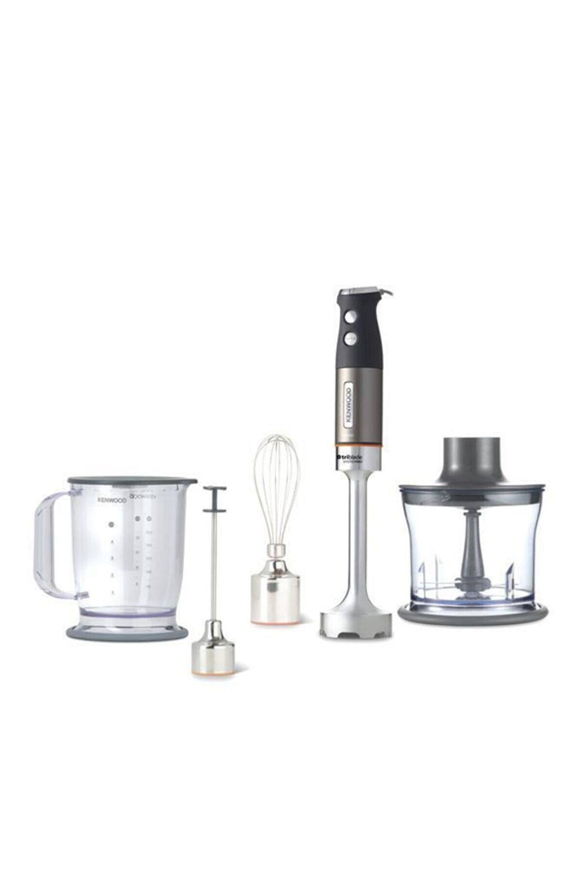 Kenwood Gümüş Patentli 3 Bıçak Hdm804sı 1000 Watt Blender Seti