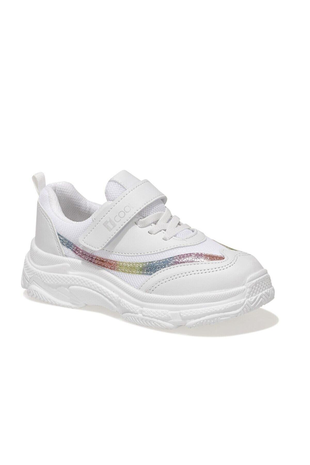 Icool CHUNKY F 1FX Beyaz Kız Çocuk Yürüyüş Ayakkabısı 101015557