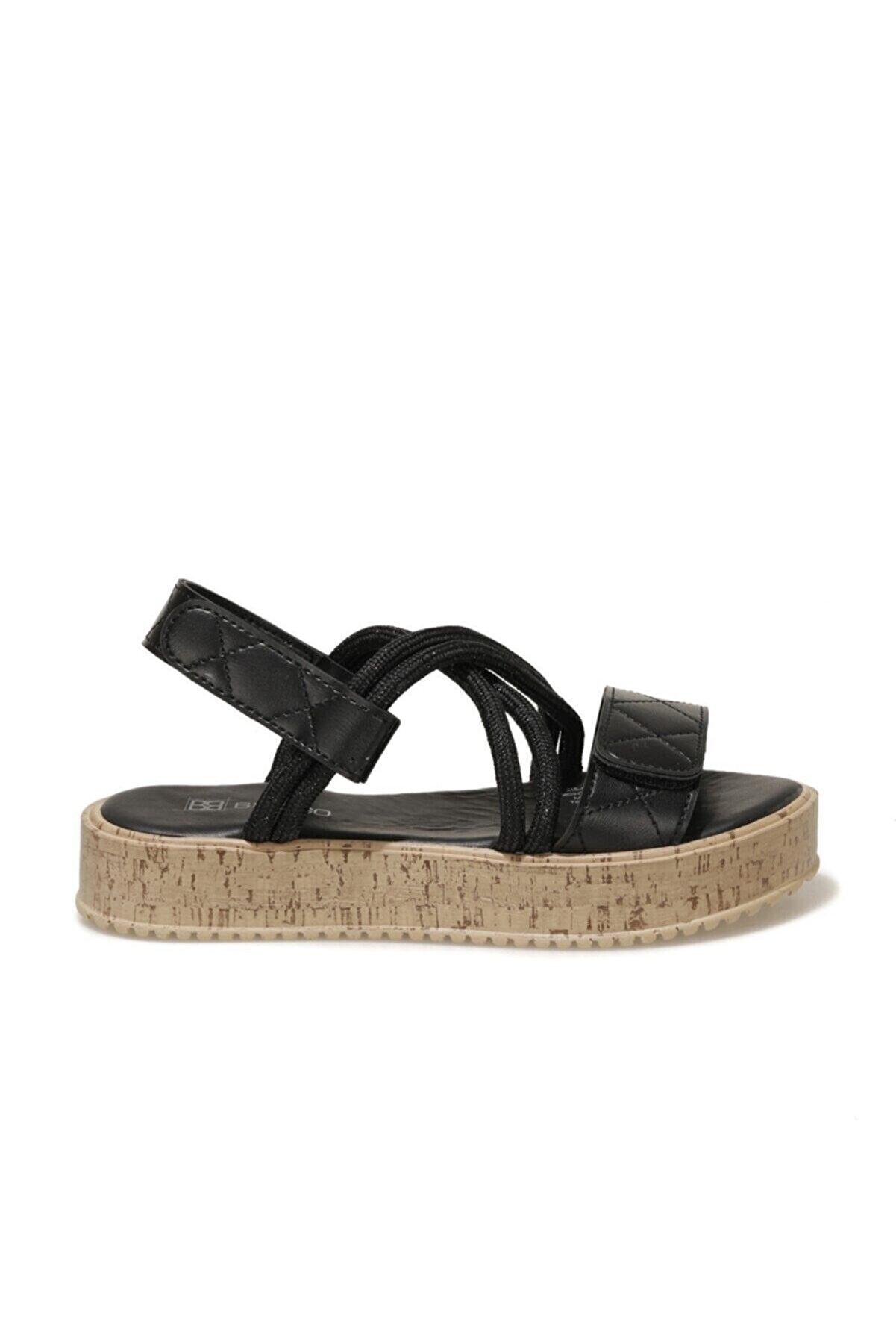 Butigo 21S-1121FX Siyah Kadın Sandalet 101029267