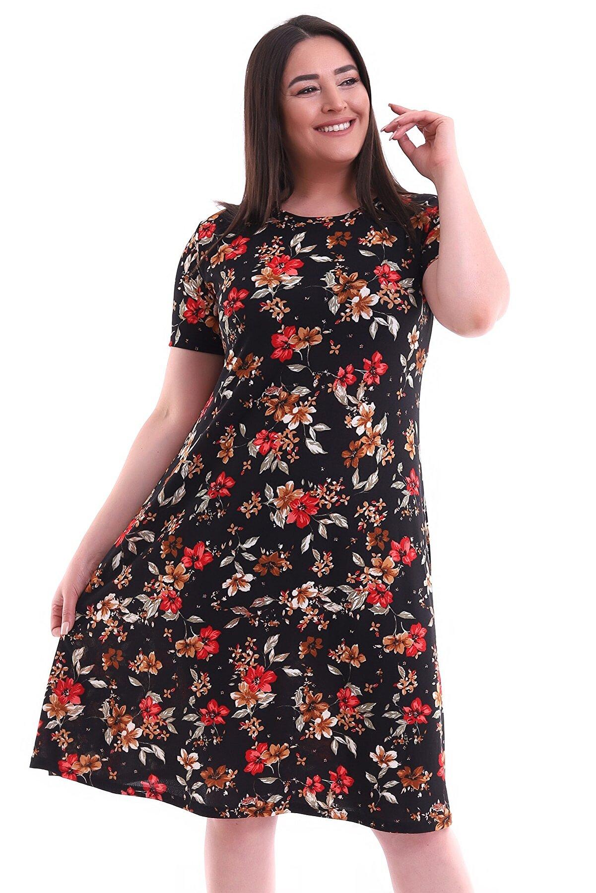 Alesia Büyük Beden Elbise