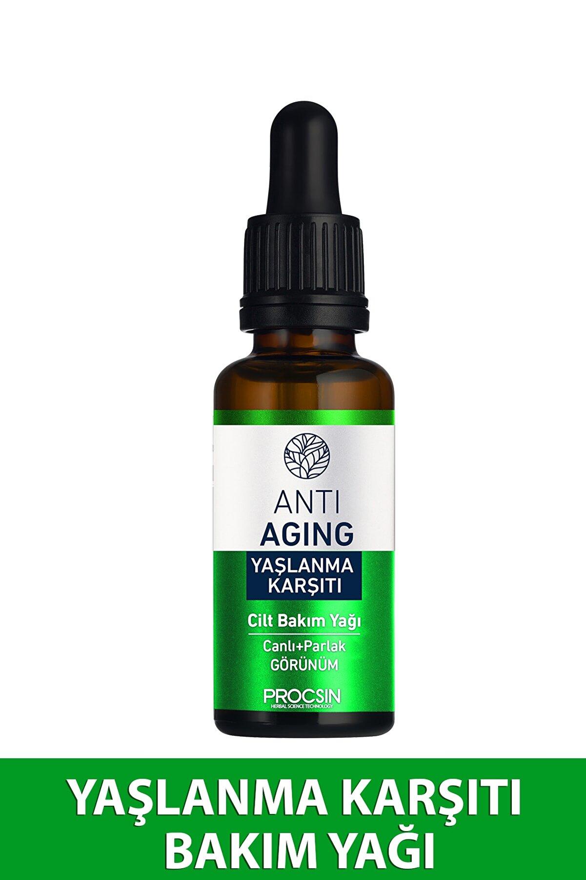 Procsin Yaşlanma Karşıtı Cilt Bakım Yağı 20 ml