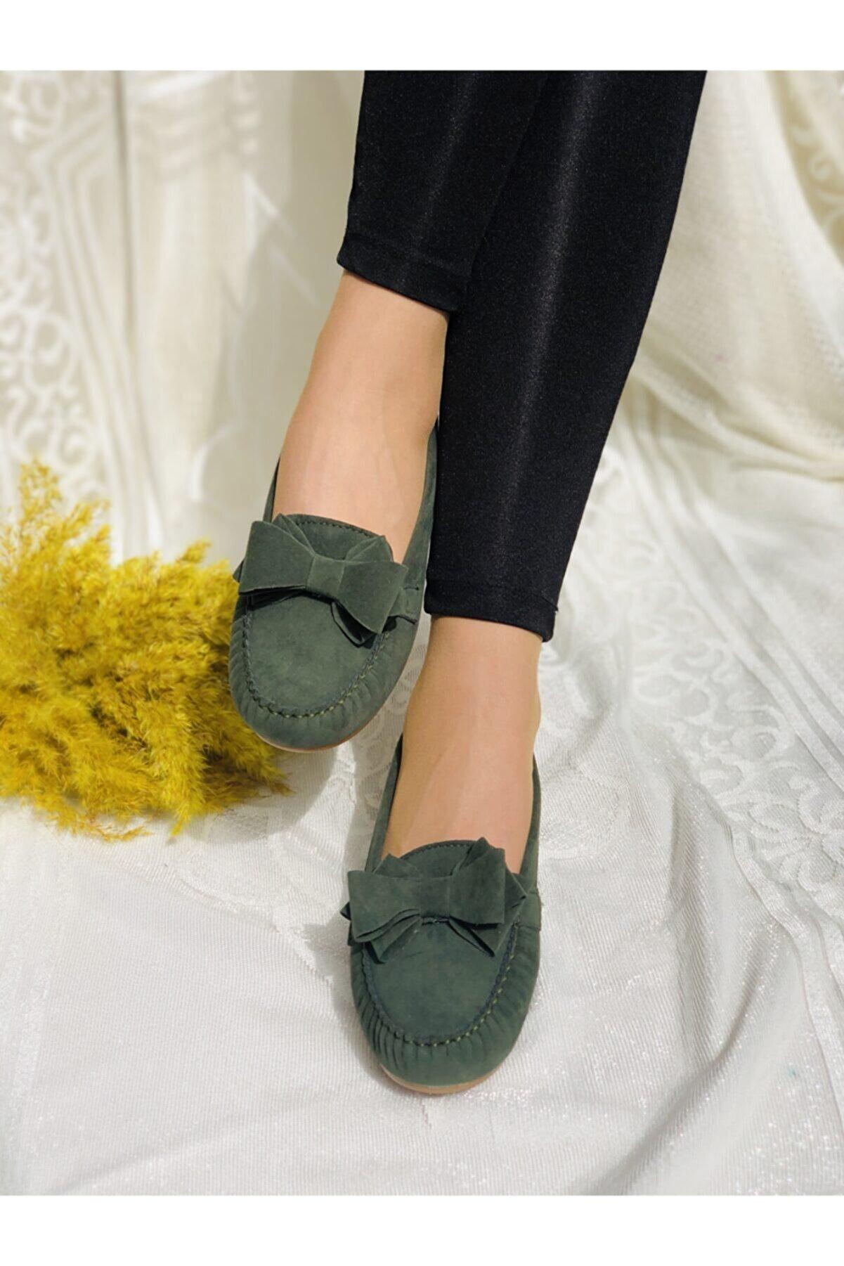 ENOLA Kadın Haki Yeşil Babet