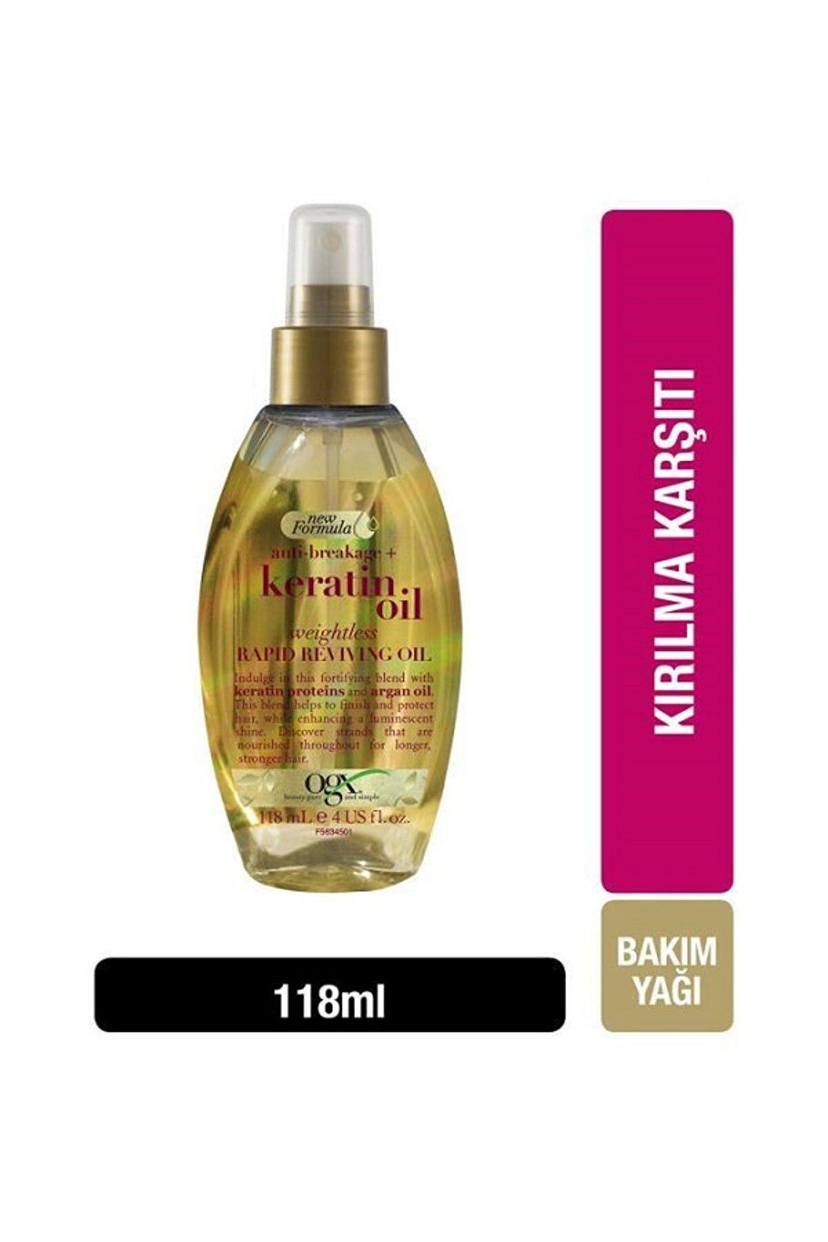 OGX Kırılma Karşıtı Bakım Yağı Keratin Oil 118 ml