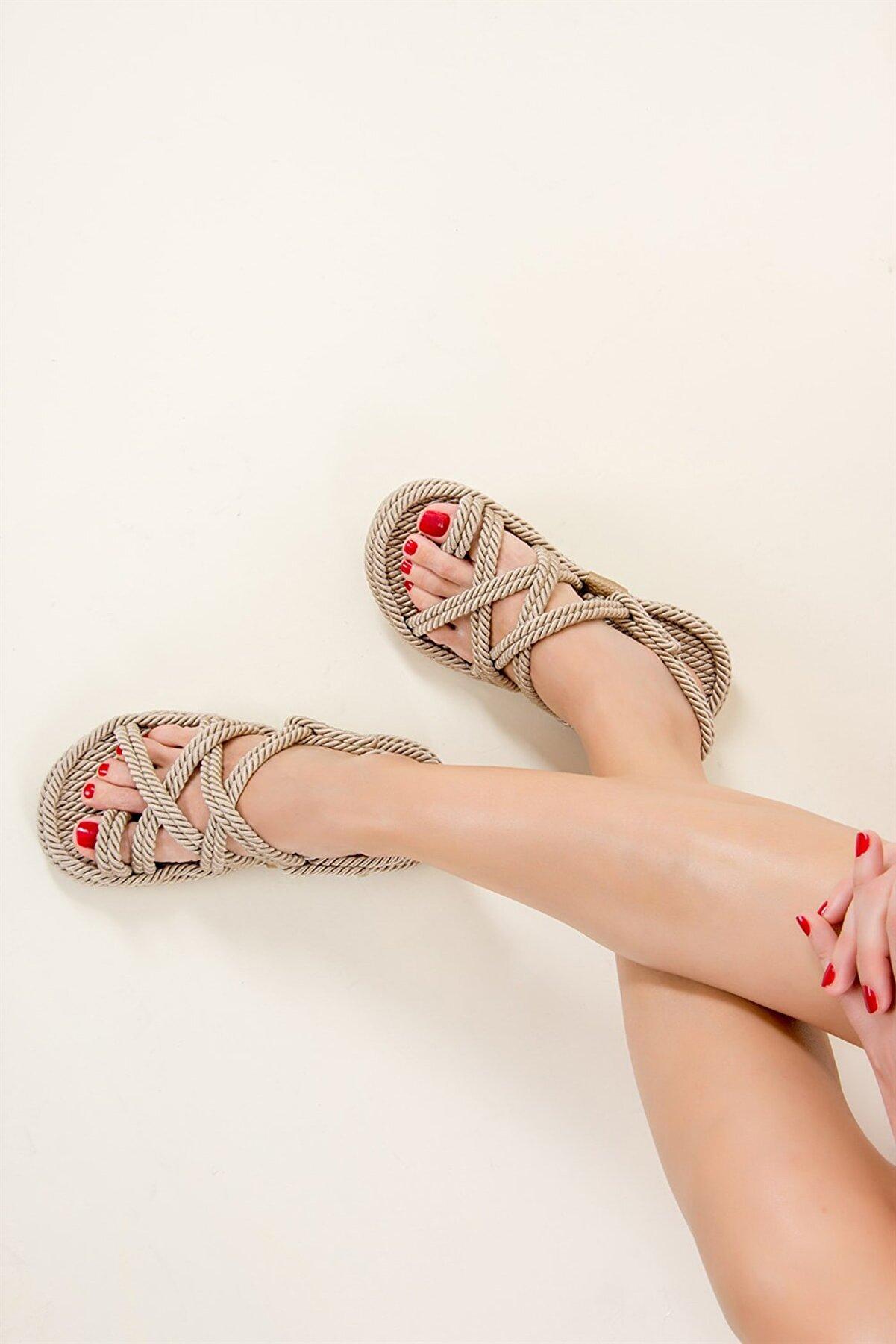 Fox Shoes Ten Kadın Sandalet F470135104