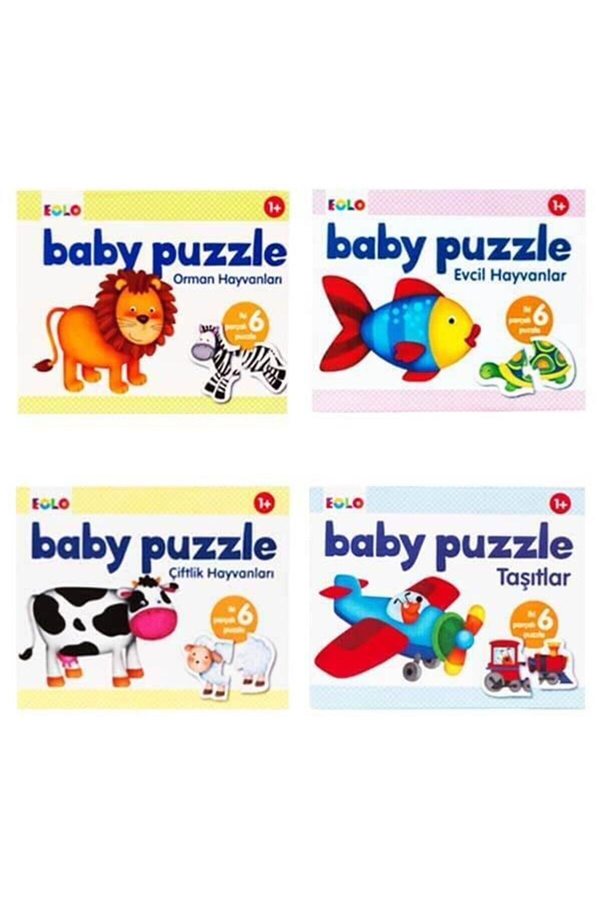 Eolo +1 Yaş 4'lü Bebek Puzzle Seti