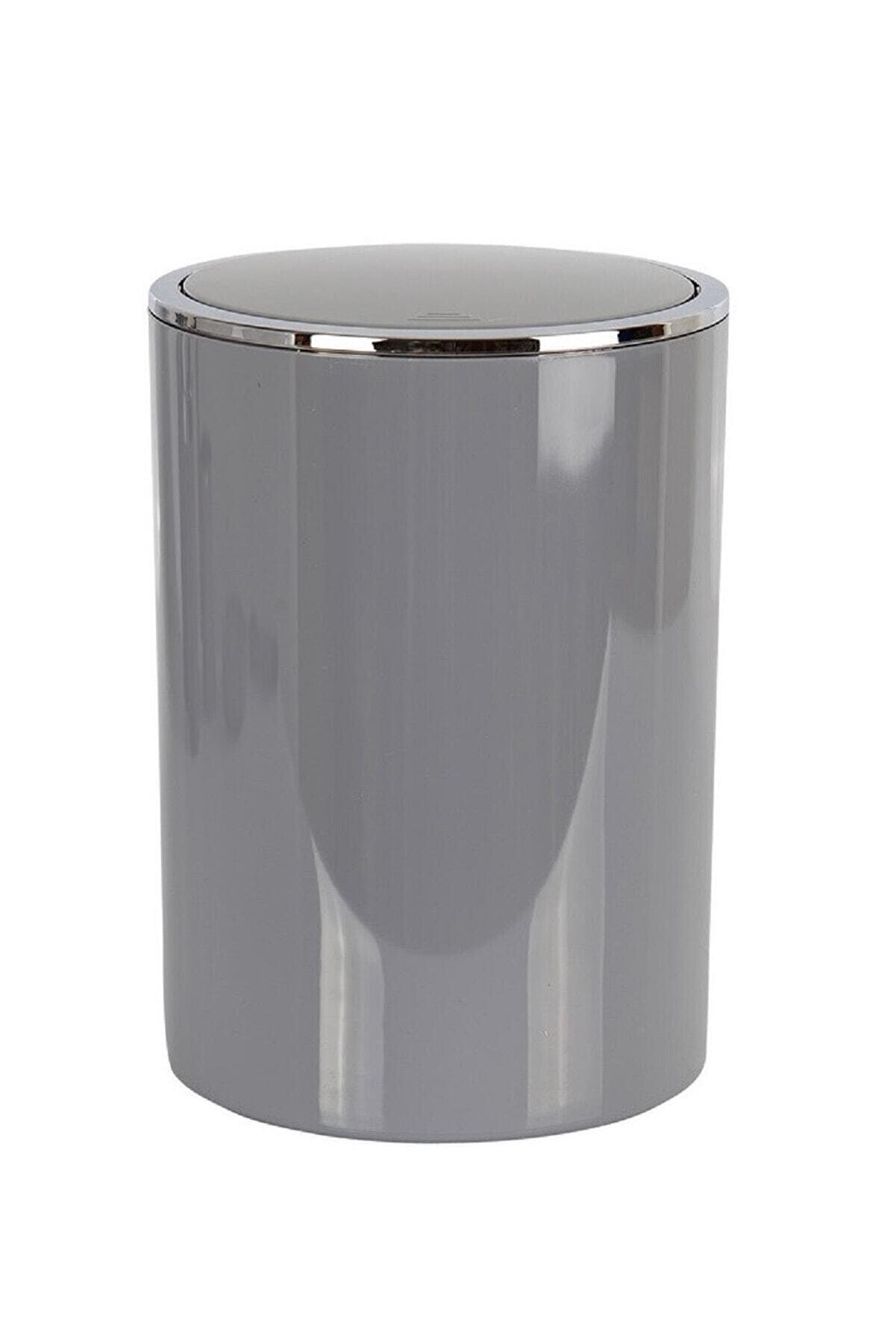 Prima Nova Lenox Çöp Kovası 6 lt Gri (E35)
