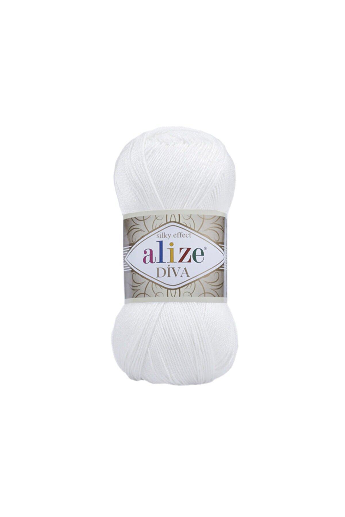 Alize Dıva 55 Beyaz