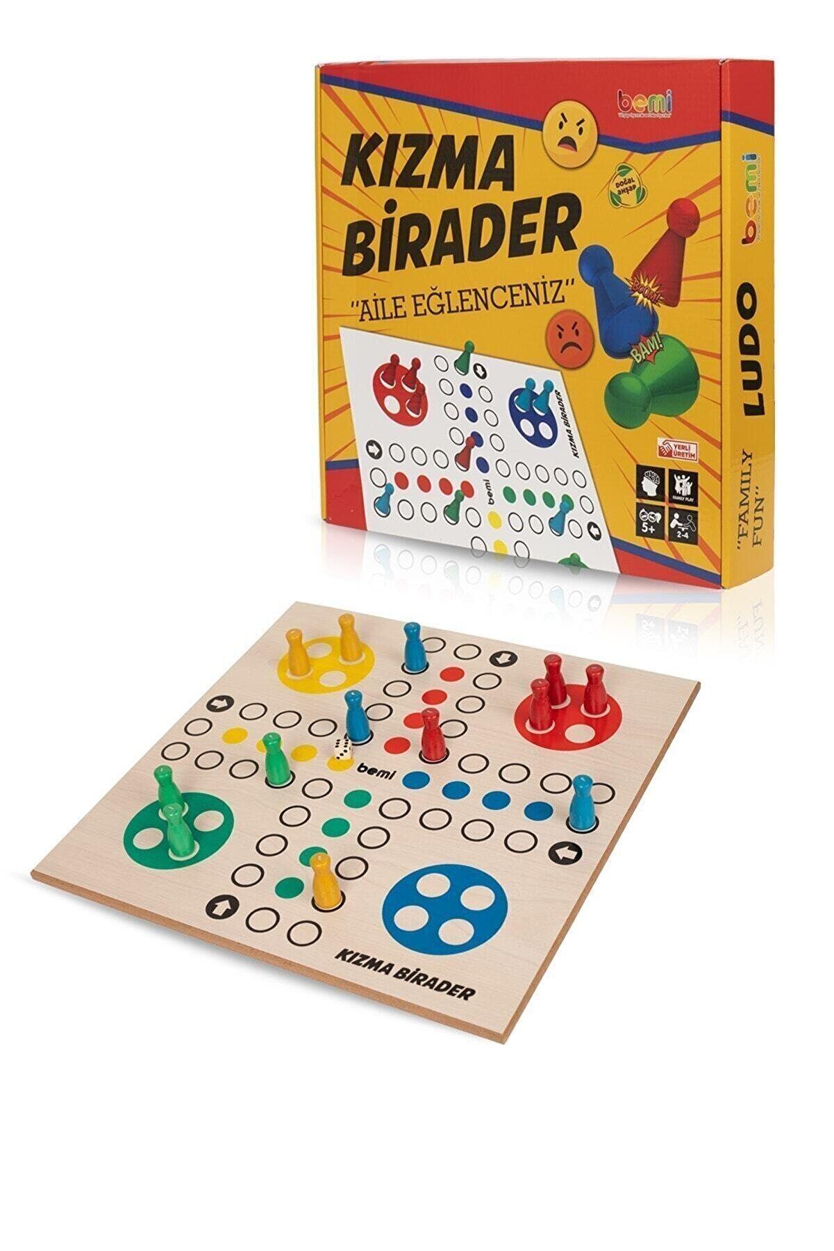 BEMİ Kızma Birader Akıl Hafıza Mantık Beceri Eğitici Zeka Strateji Kutu Oyunu