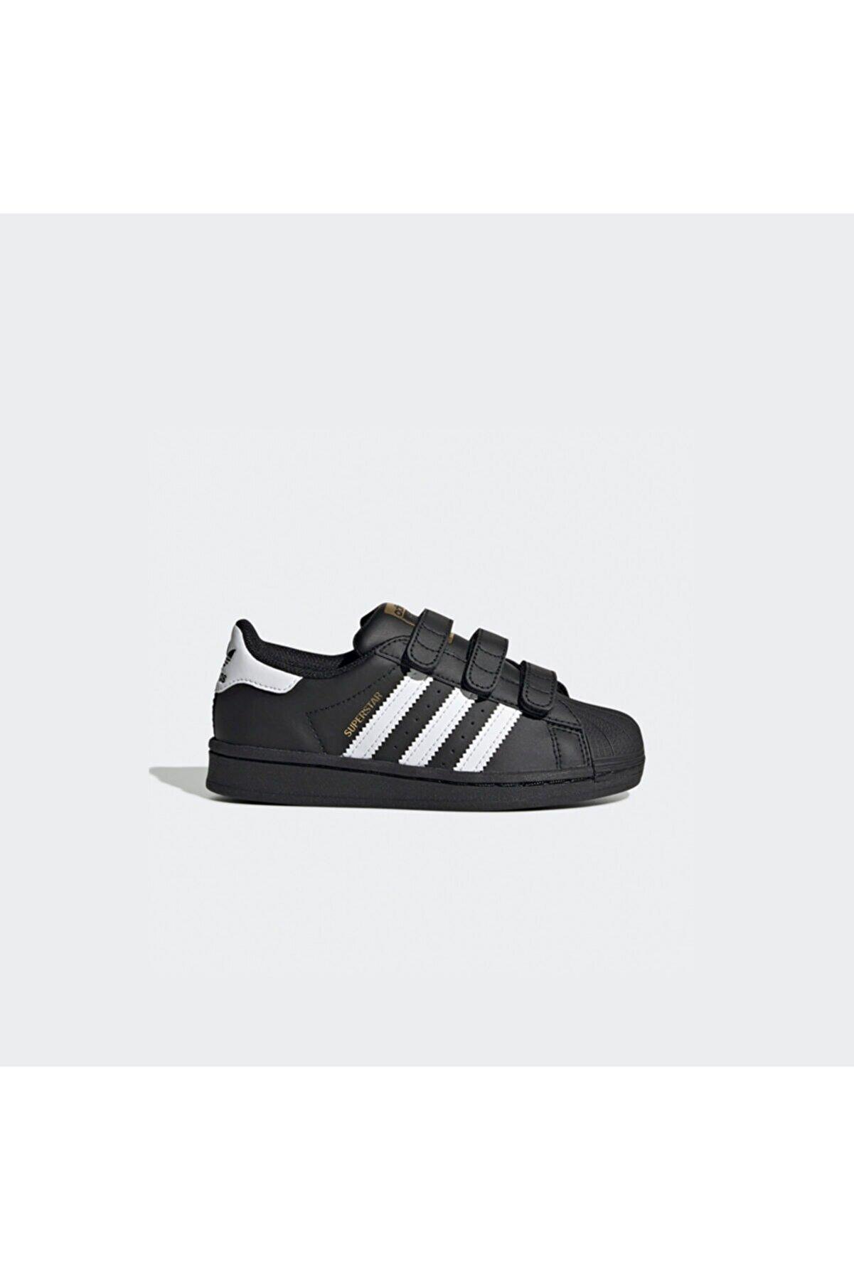 adidas Çocuk Siyah Superstar  Spor Ayakkabı