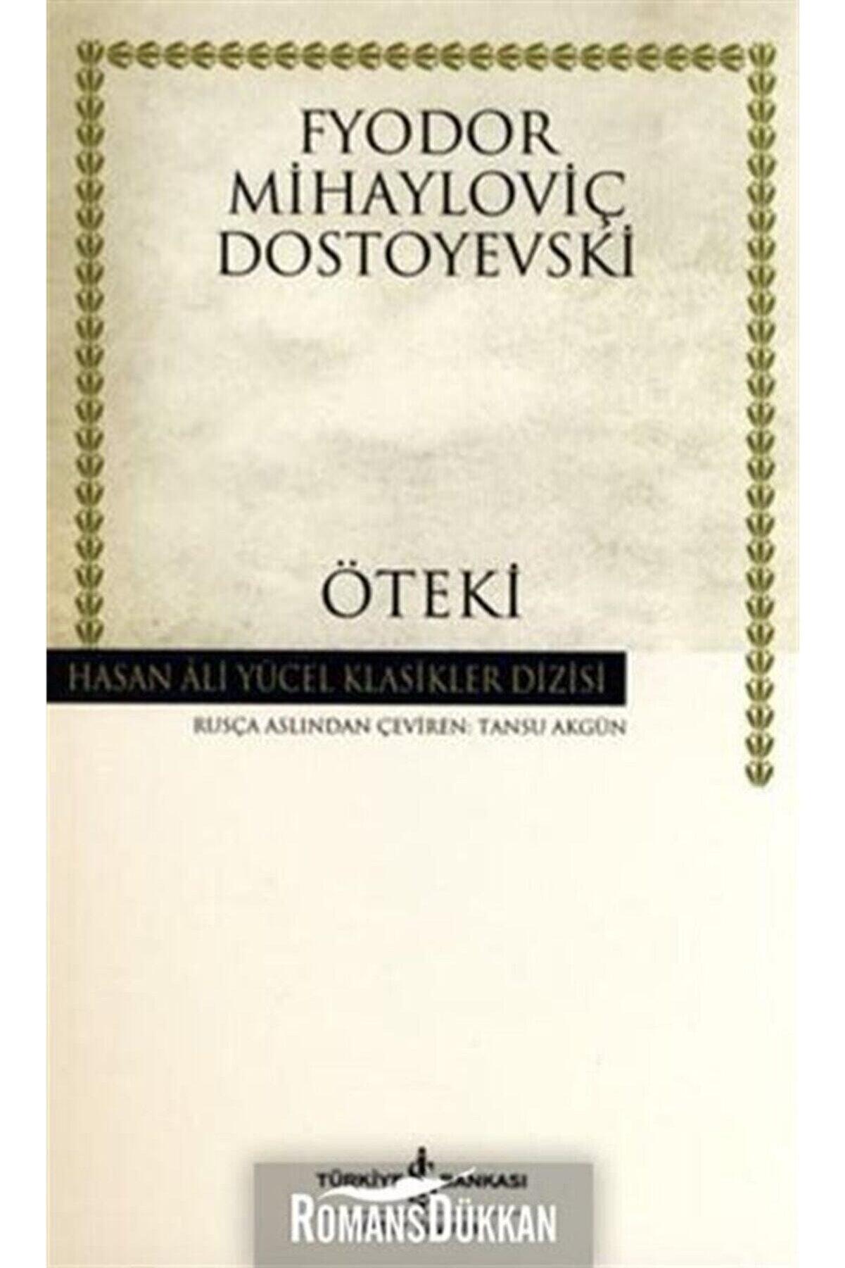İş Bankası Kültür Yayınları Öteki Hasan Ali Yücel Klasikleri