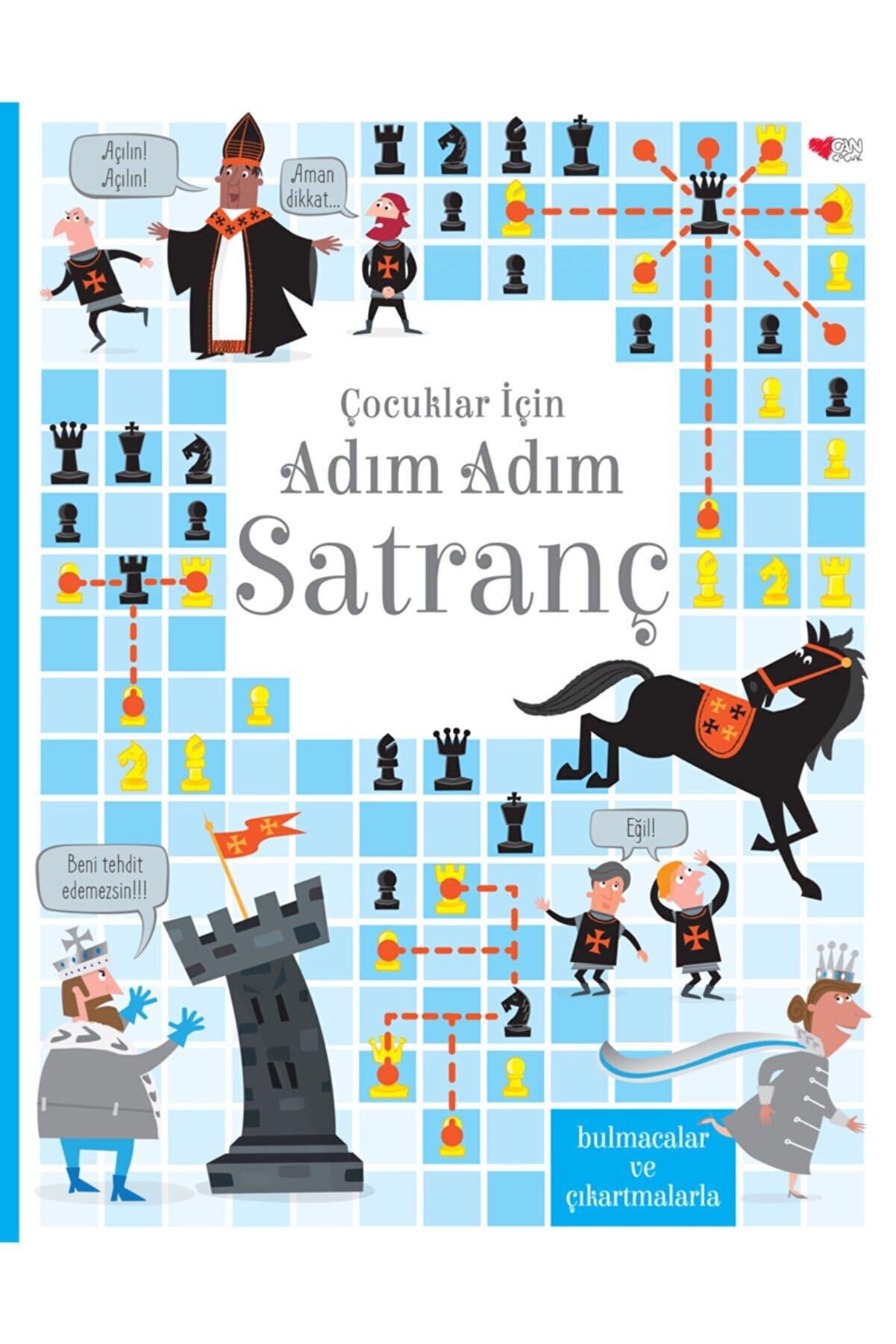 Can Çocuk Yayınları Çocuklar Için Adım Adım Satranç