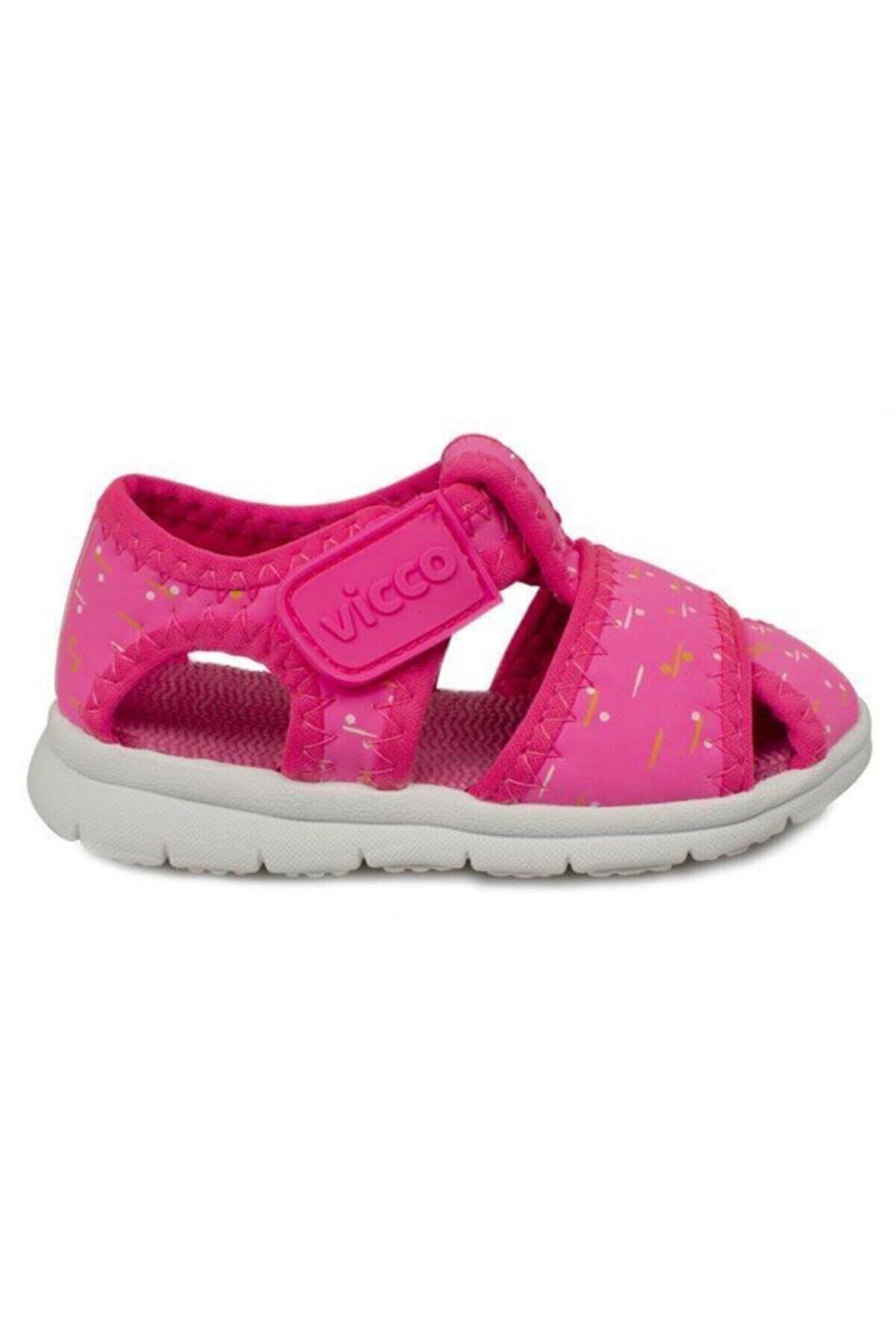 Vicco Kız Çocuk Fuşya Phylon Sandalet