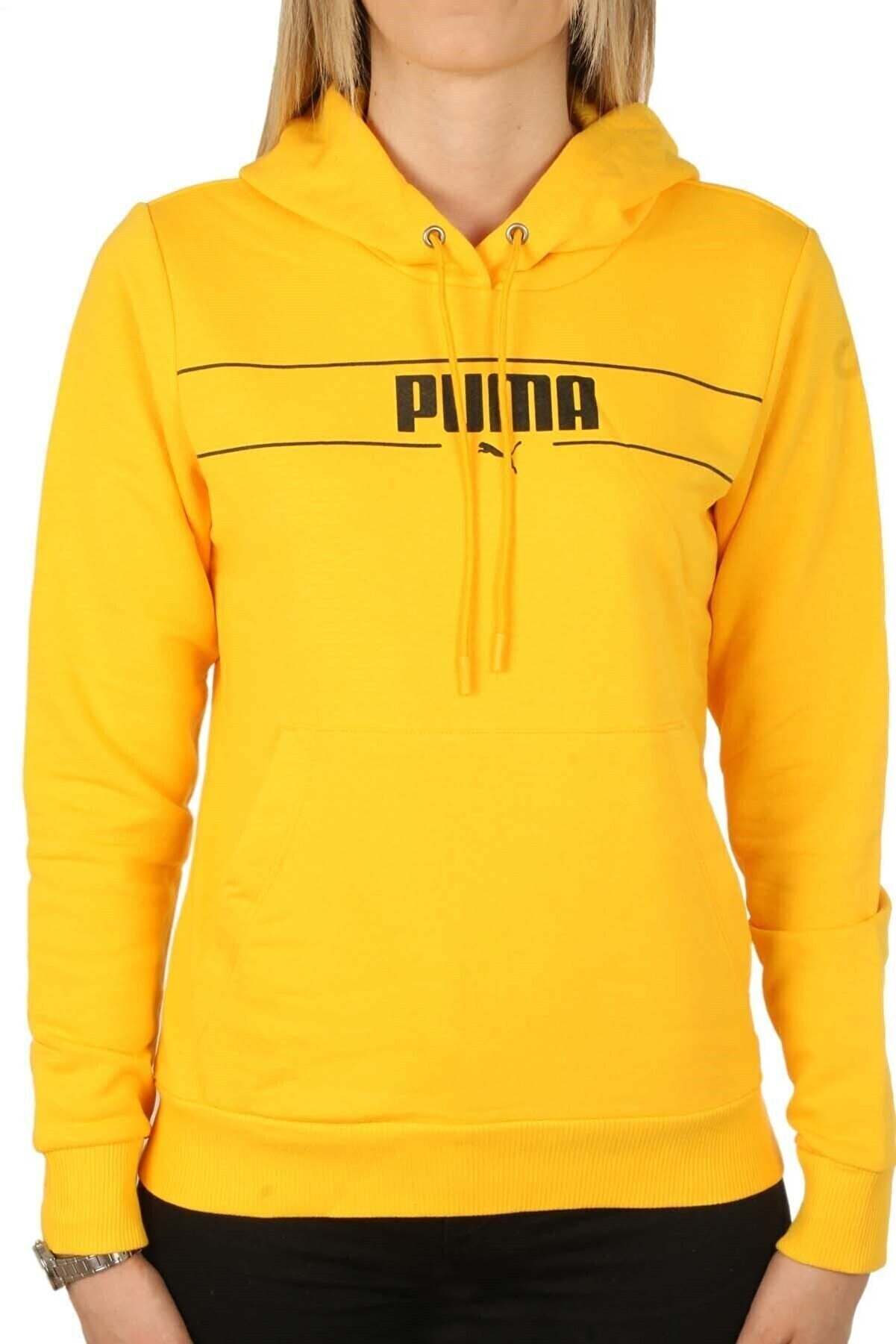 Puma Blank Base Hoodıe Kadın Sweat Kapüşon 586400 04