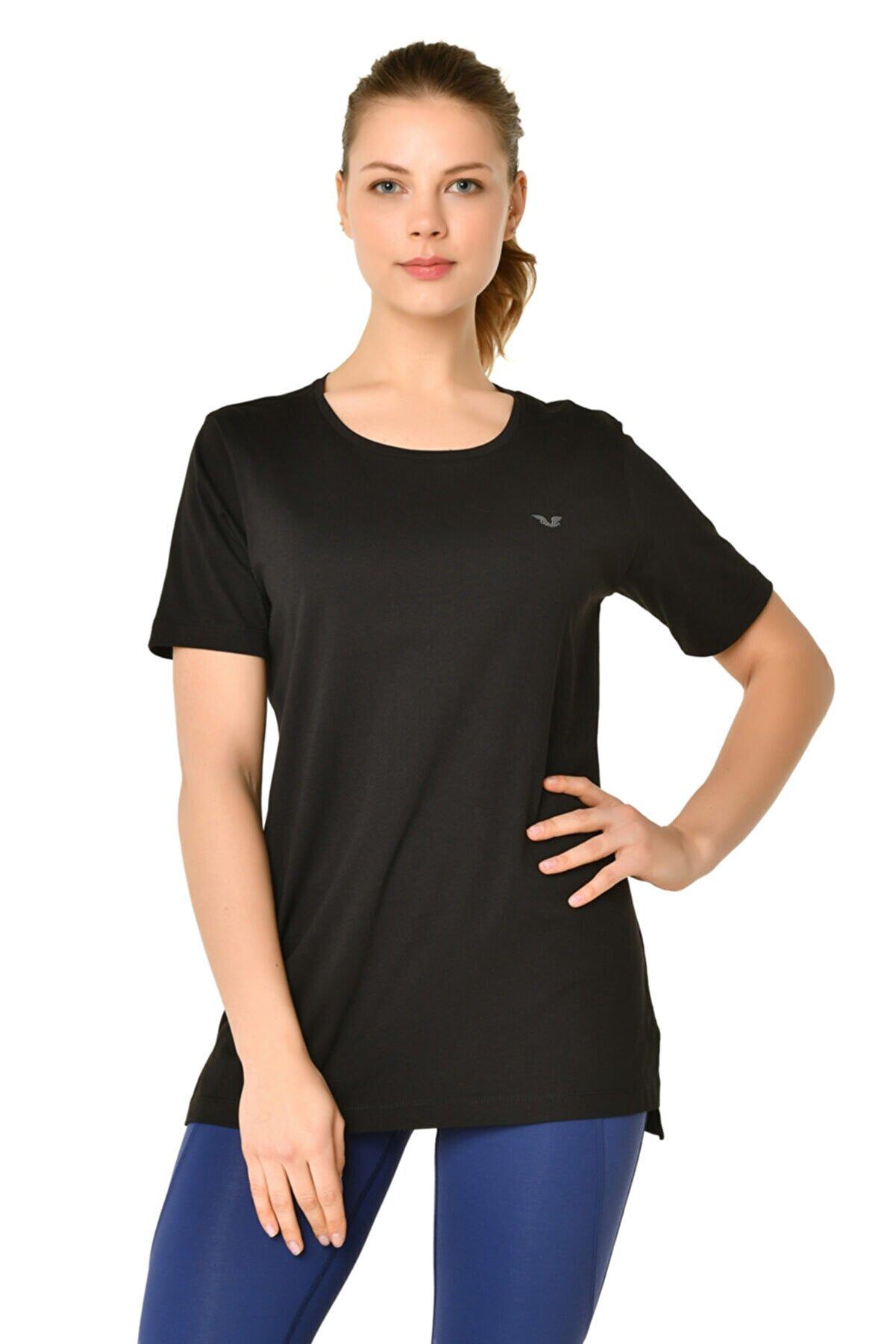 bilcee Kadın Siyah T-shirt