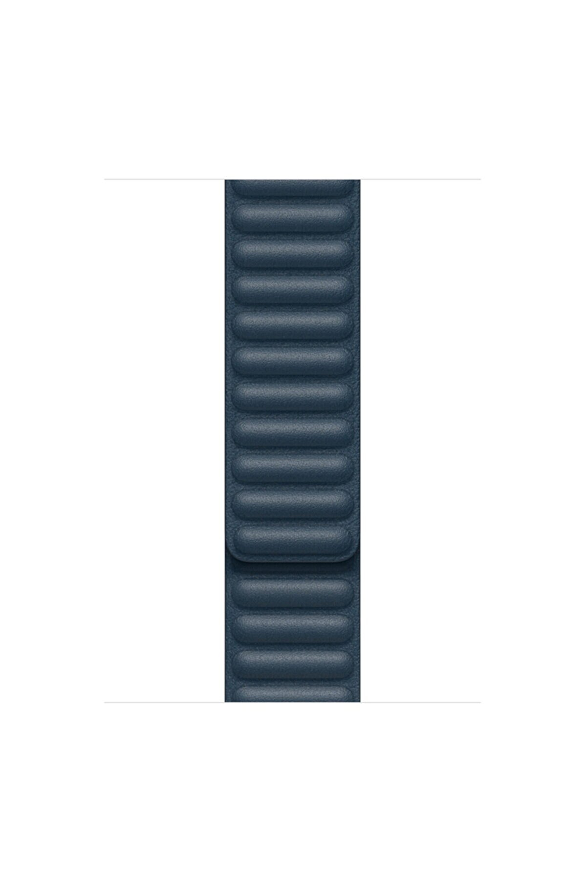 Microsonic Microsonic Watch Series 3 38mm UyumluKordon Leather Link Band Lacivert