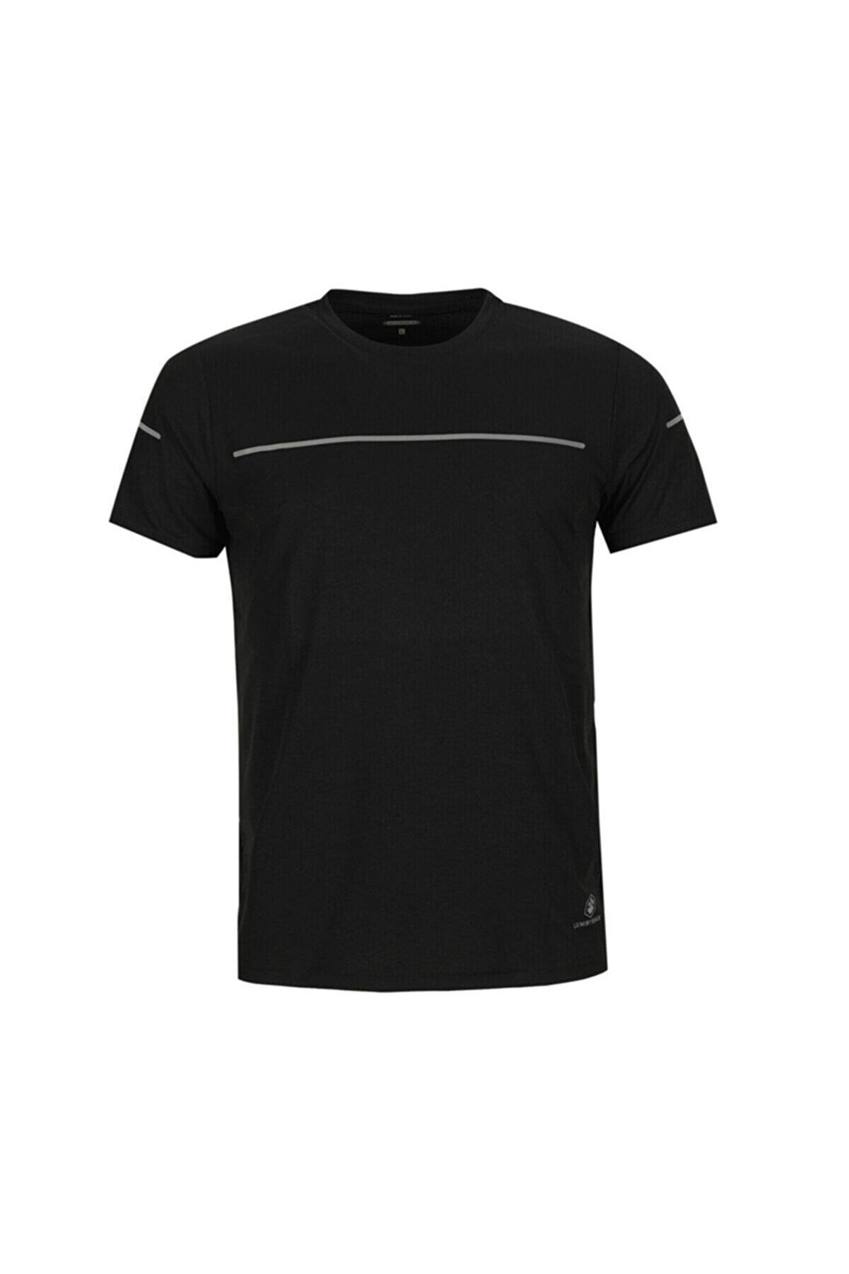 Lumberjack ELON STRIPE T-SHIRT Siyah Erkek T-Shirt 101006697
