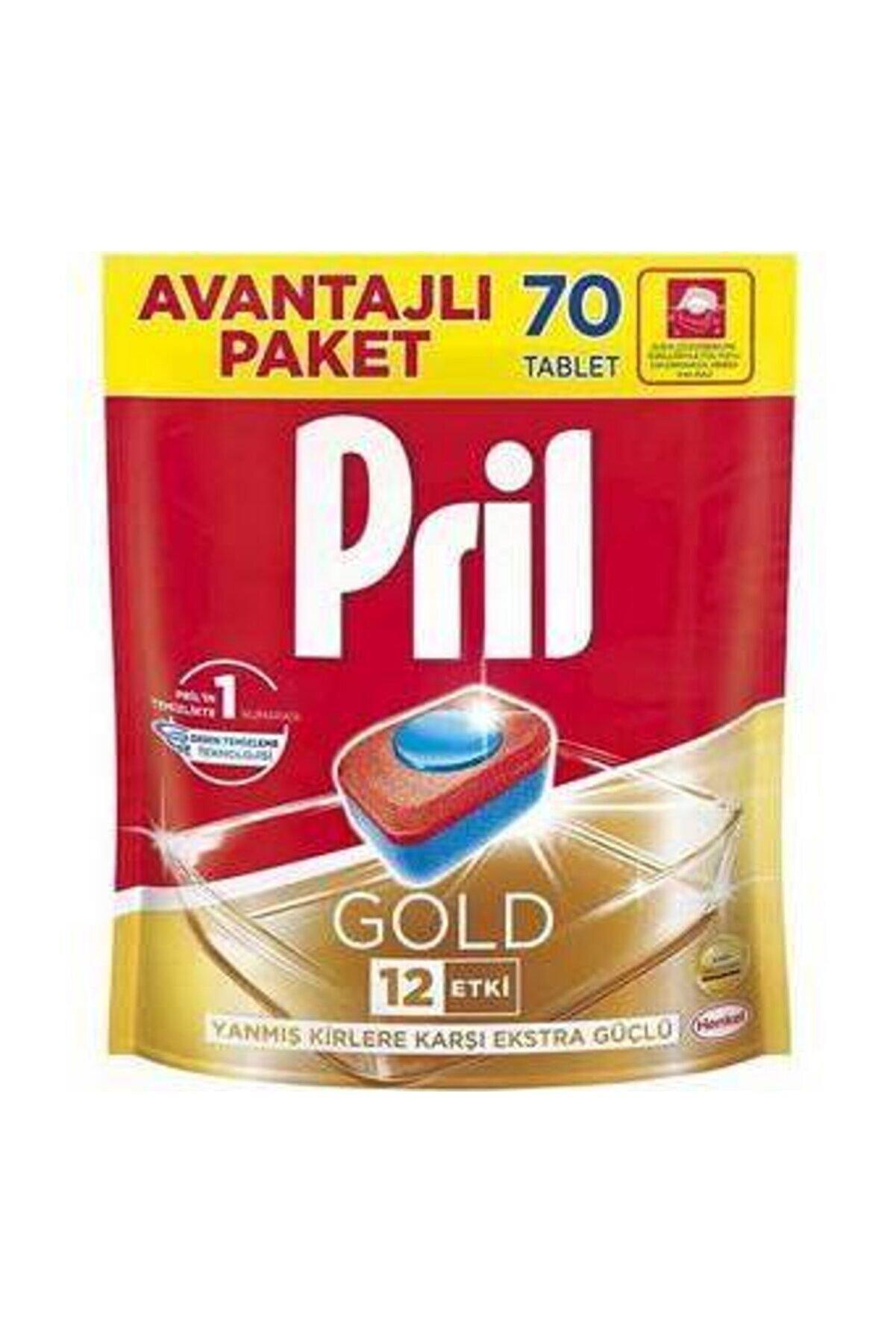 Pril Gold 70Yıkama Bulaşık Makinesi Deterjanı Tableti
