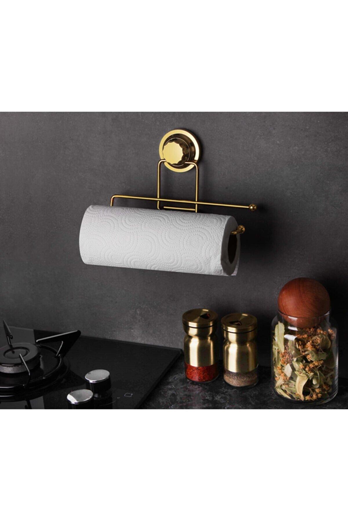 Okyanus Home Gold Serisi Lux Kağıt Havluluk 3 Fonksiyonlu - Ister Vakumla, Ister Yapıştır, Ister Vid