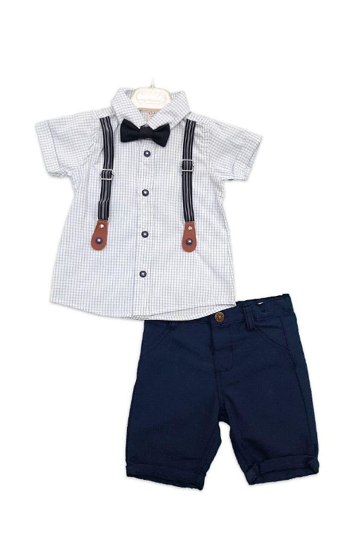 Bebüş Erkek Bebek Takım Slopet'li - 9583
