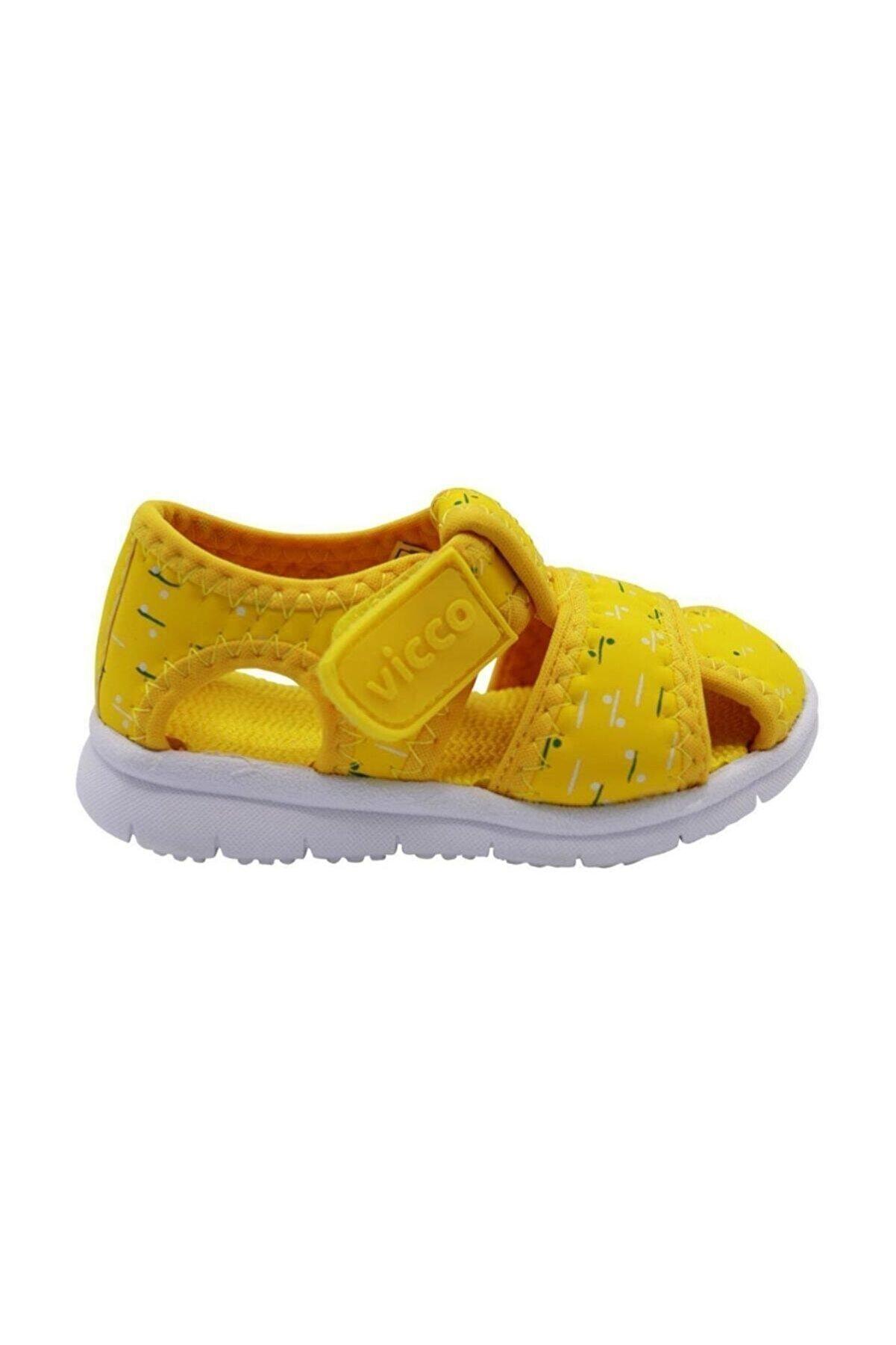 Vicco 332.E20Y.306 Sarı Kız Çocuk Sandalet 100578978