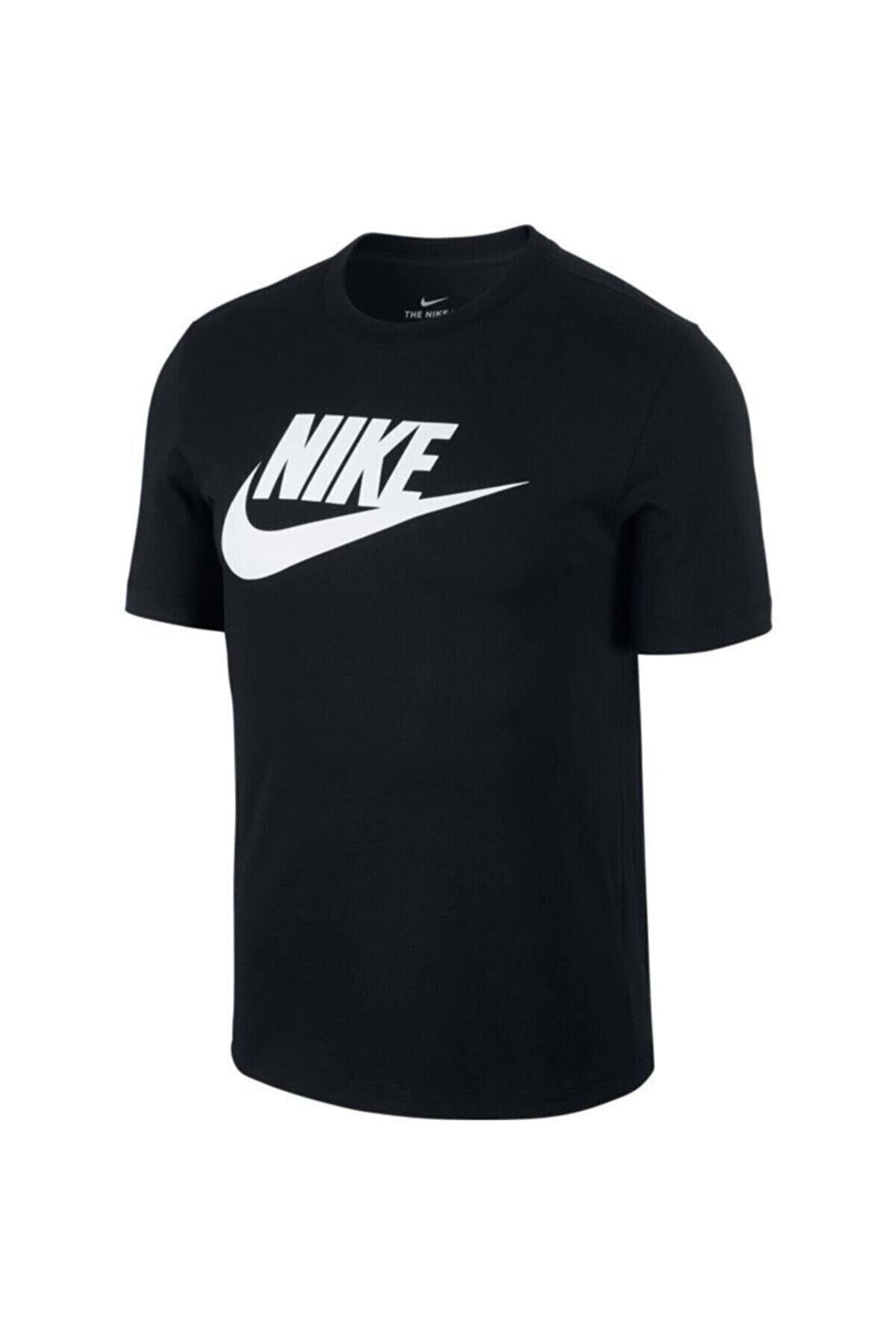 Nike Erkek Siyah Tişört Ar5004-010