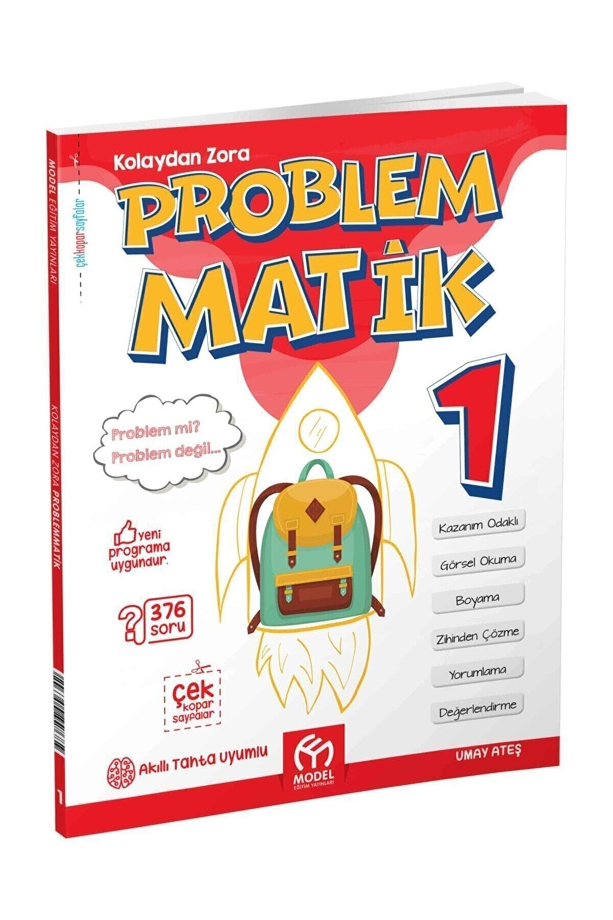 Model Eğitim Yayınları 1.sınıf Kolaydan Zora Problemmatik