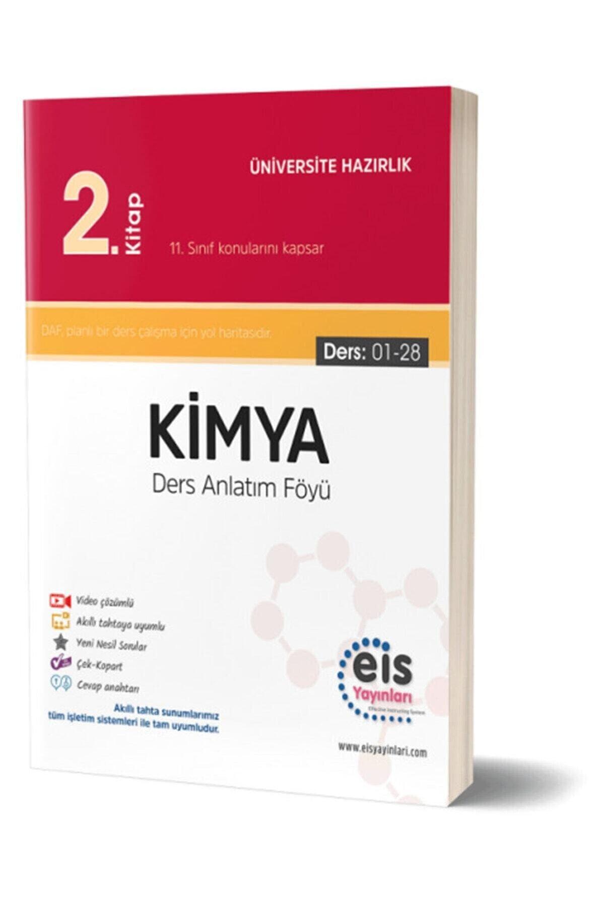 Eis Yayınları Eis Tyt Ayt Kimya Ders Anlatım Föyü Daf 2.kitap