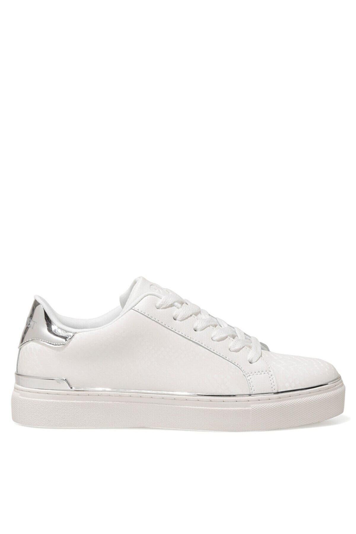 Nine West BEGANA 1FX Beyaz Kadın Sneaker Ayakkabı 101006860