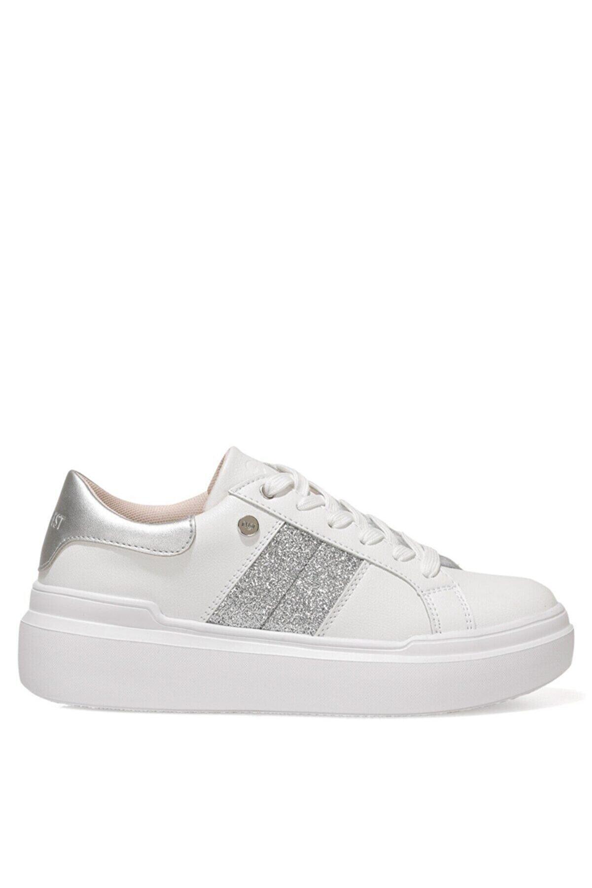Nine West PRETTY 1FX Beyaz Kadın Sneaker Ayakkabı 101015508