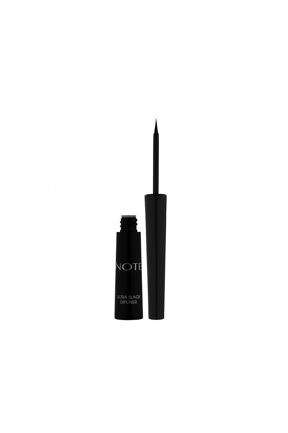 Note Cosmetics Ultra Black Dipliner Keçe Fırça Uçlu