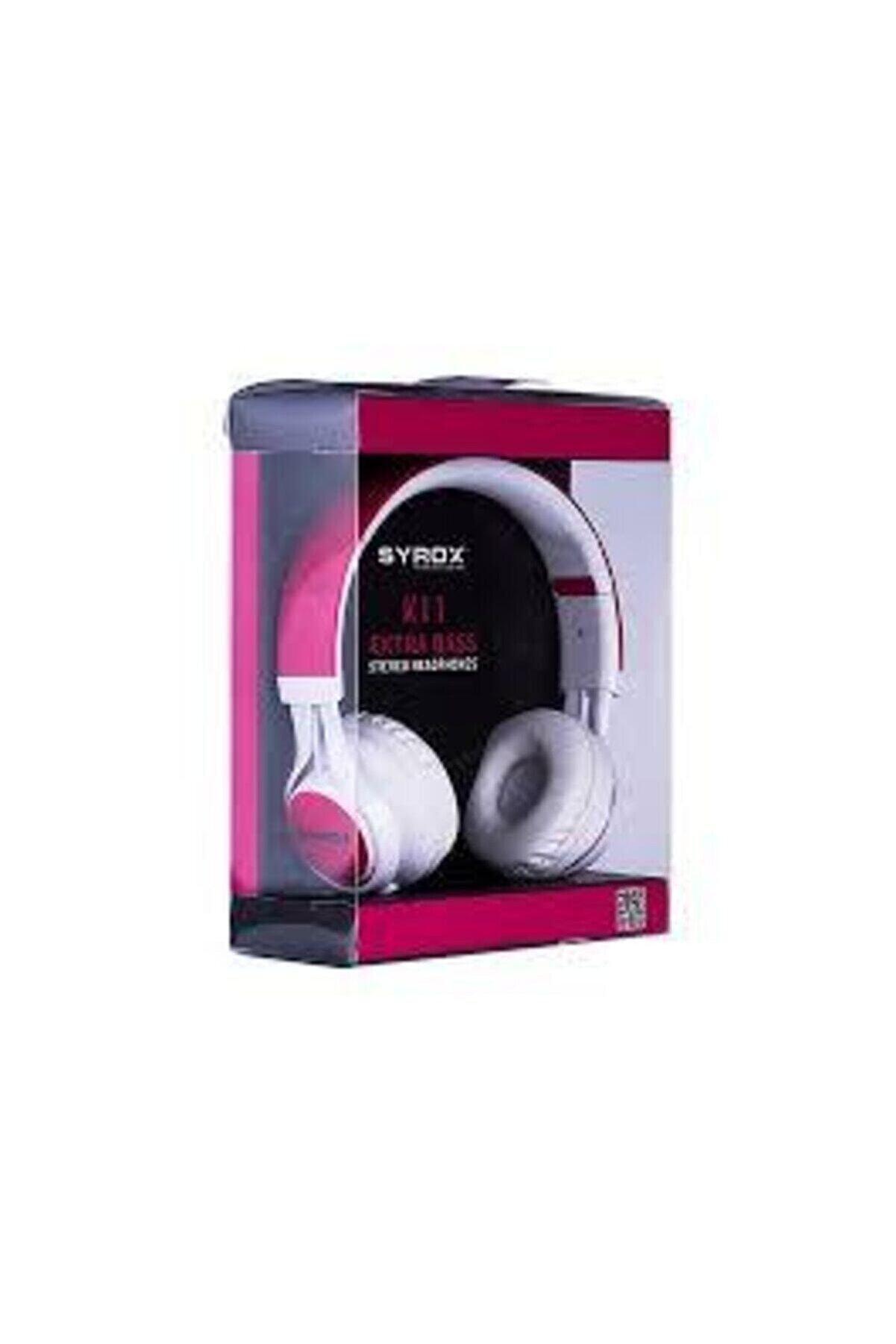 Syrox K11 Kablolu Kulak Üstü Stereo Mikrofonlu Kulaklık