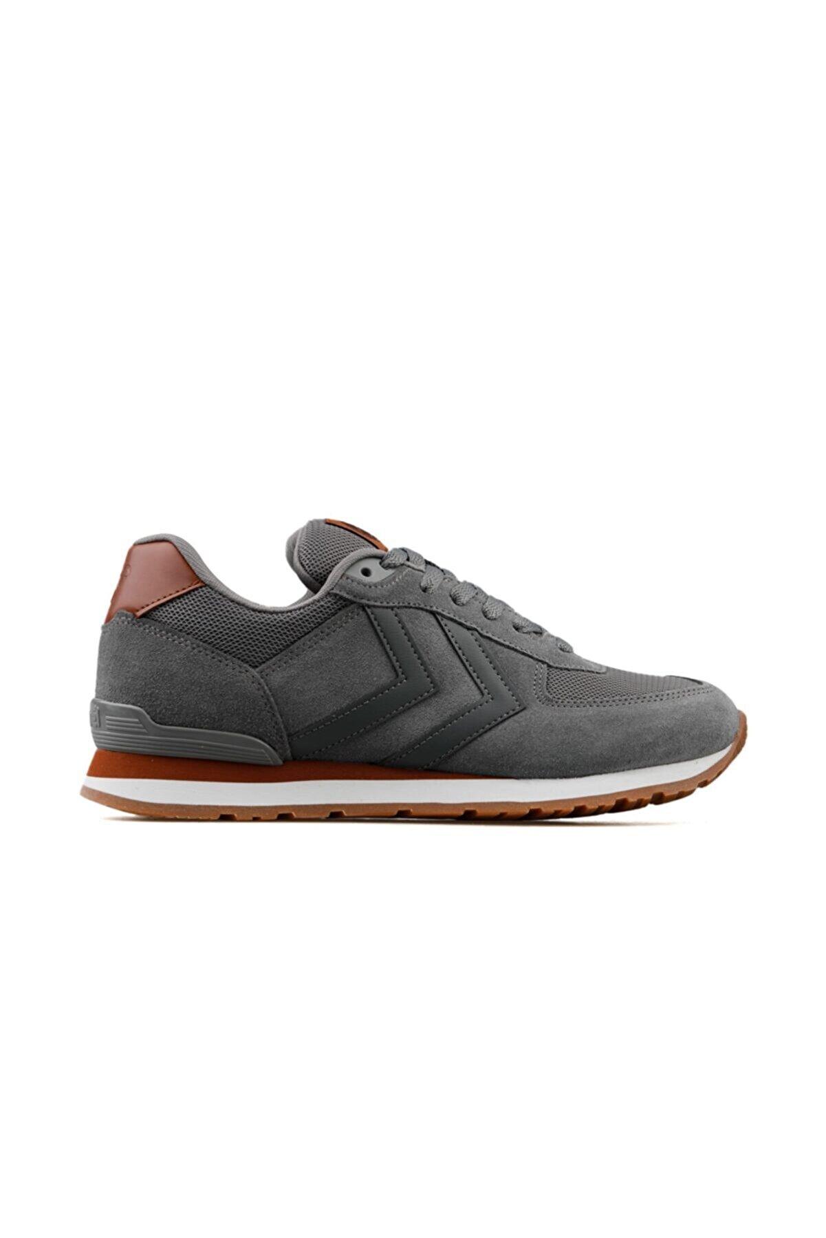 HUMMEL Erkek Gri Bağcıklı Sneaker