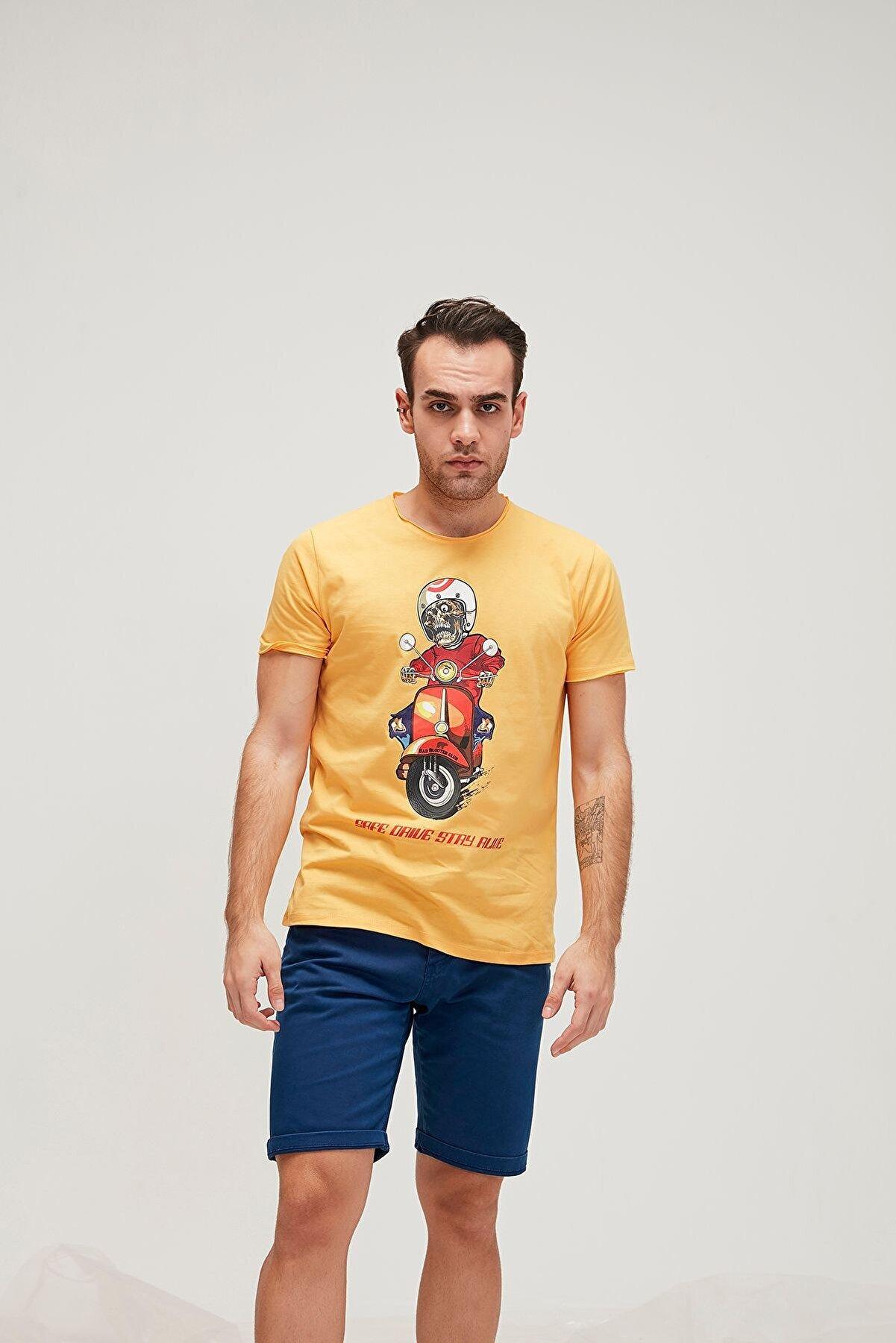 Bad Bear Erkek Scooter T-Shirt 20.01.07.031