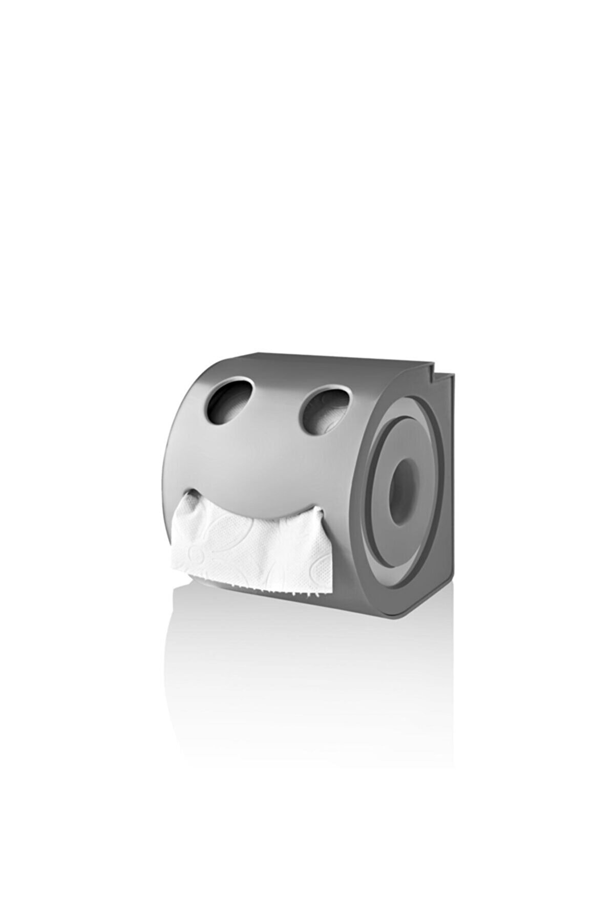 Eminem Home Wc Kağıtlık Plastik Tuvalet Kağıtlığı (gri)