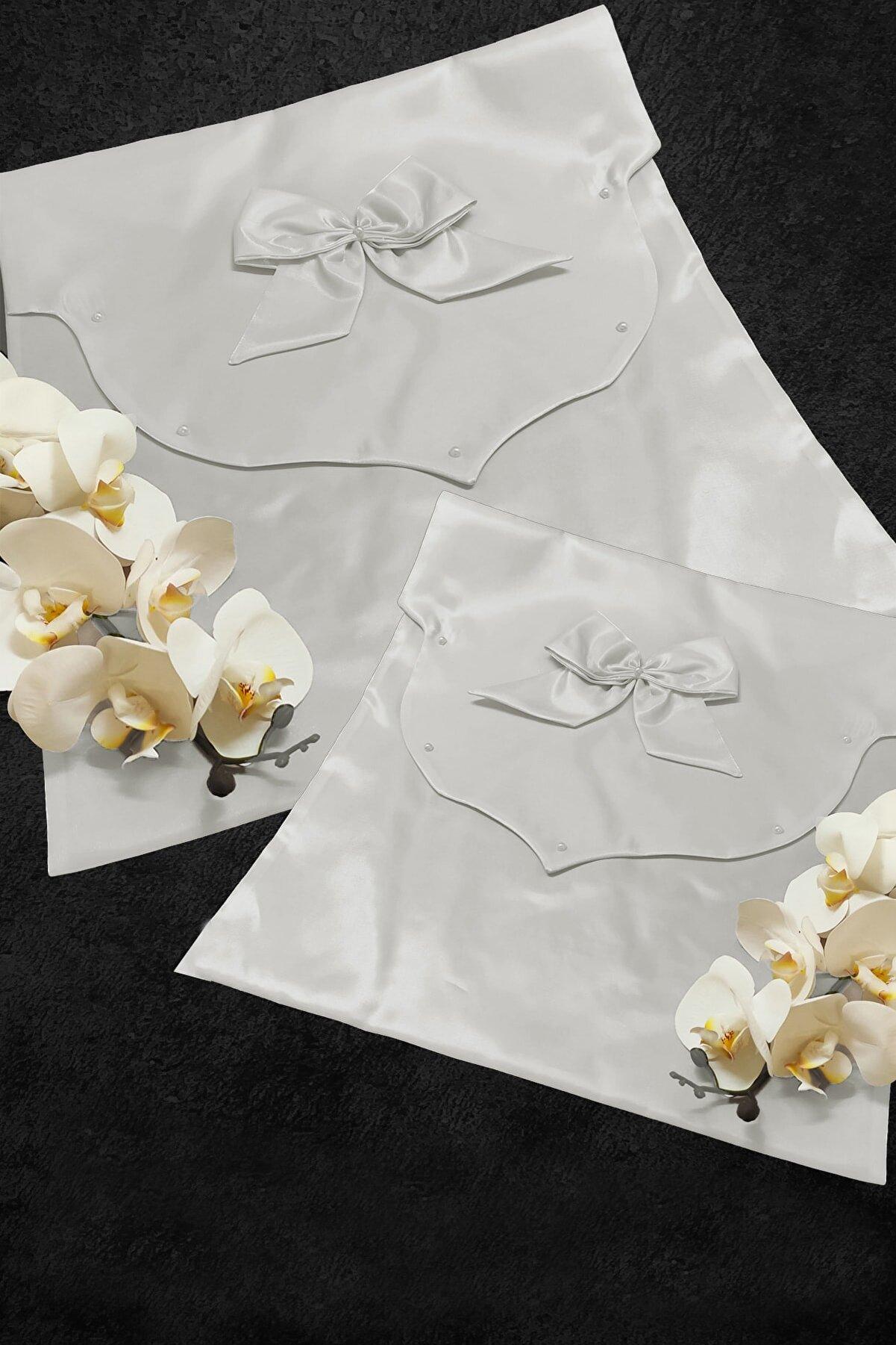 Çt Çeyizci Tekstil Zarf Bohça 2li Çeyiz Seti
