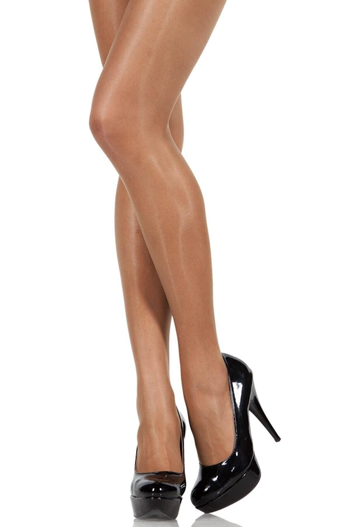 Pierre Cardin Kadın Likralı Parlak Külotlu Çorap
