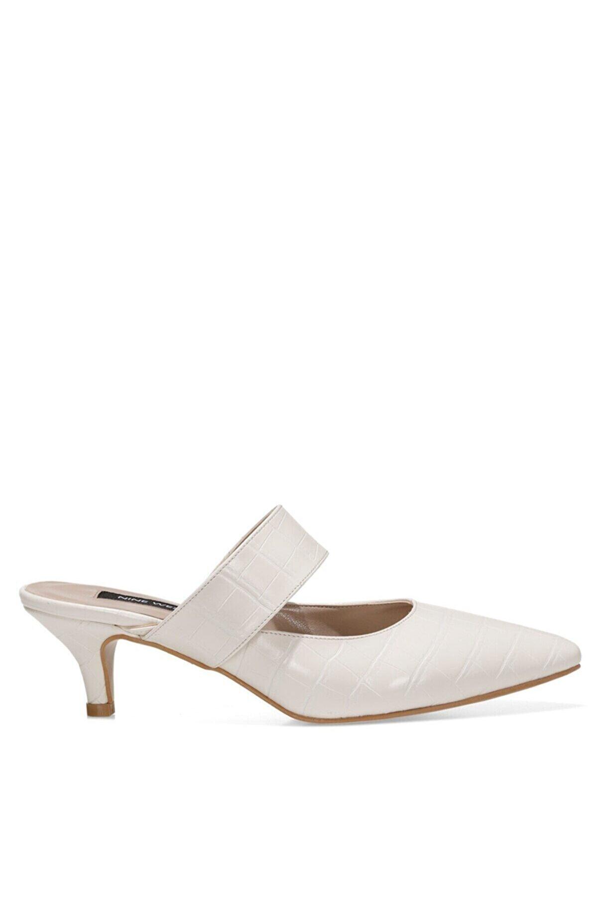 Nine West SENNES 1FX Beyaz Kadın Gova Ayakkabı 101013089