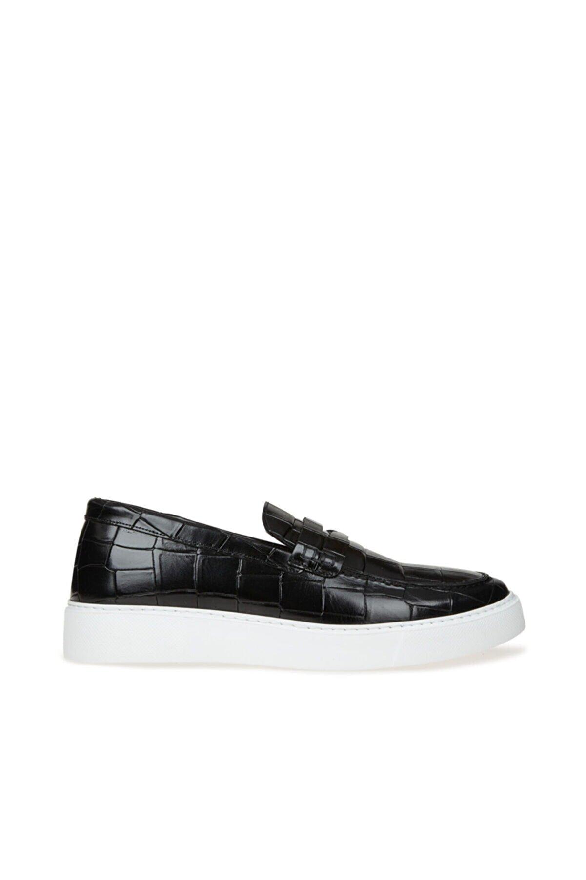 Divarese Erkek Siyah Loafer Ayakkabı