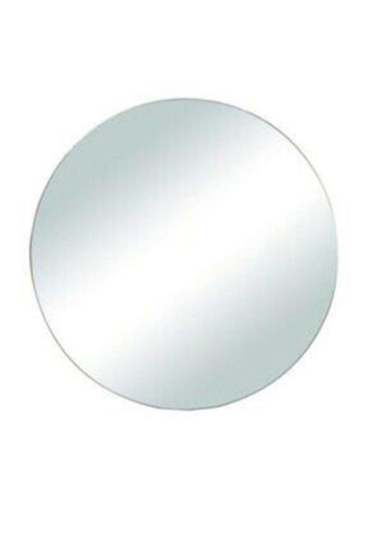 Neşeli Accessories Yuvarlak Çerçevesiz Dekoratif Ayna 23 Cm