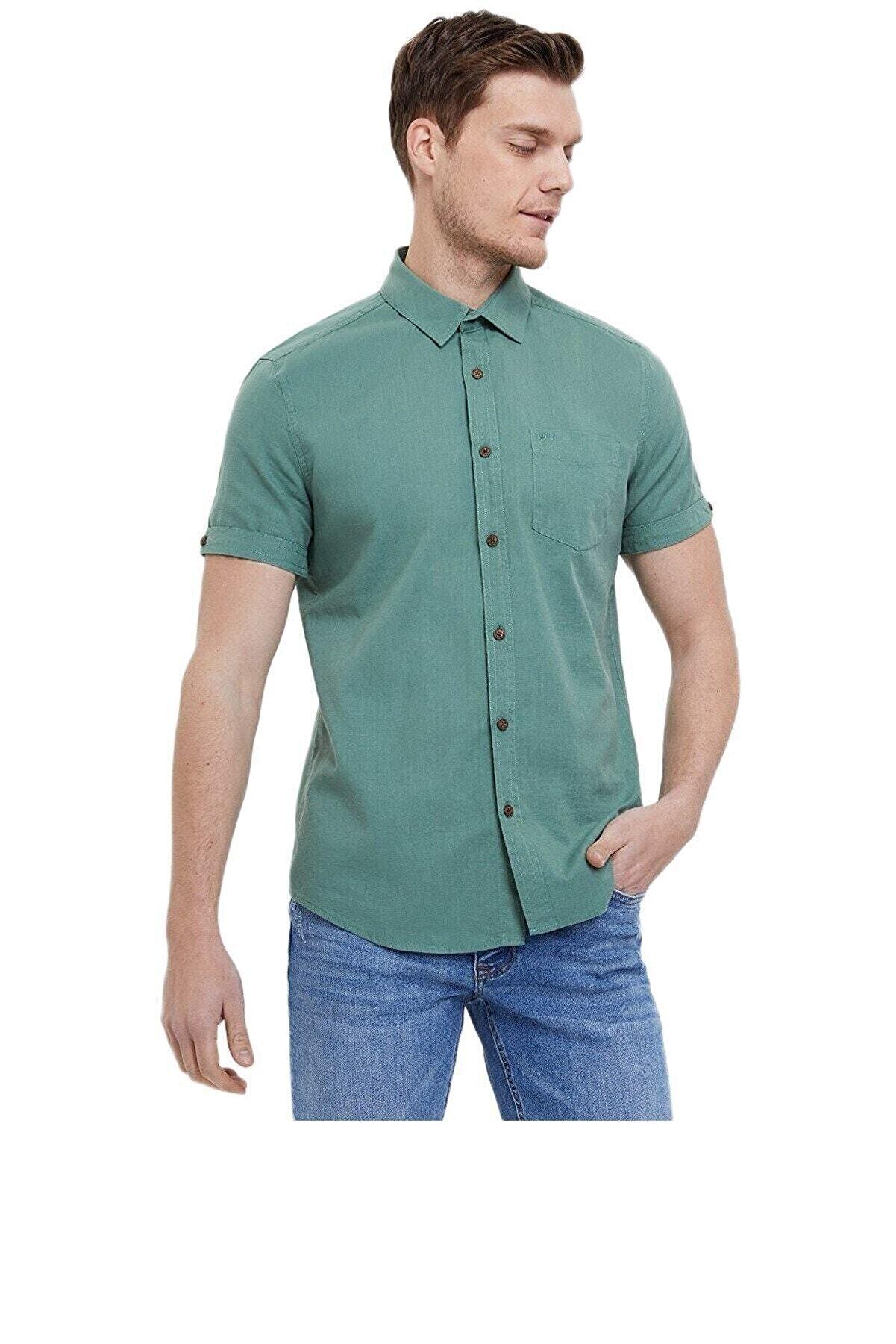 Loft Erkek Yeşil Gömlek 2024351