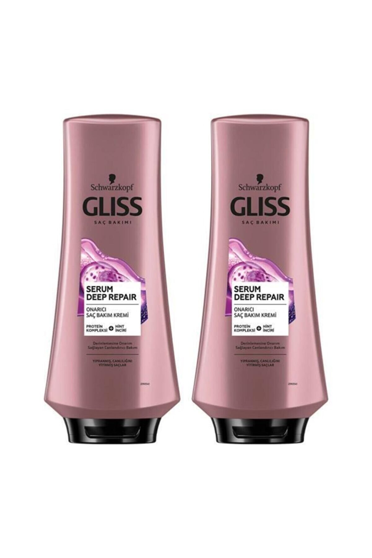 Gliss Serum Deep Repair Onarıcı Saç Kremi 360 ml 2'li