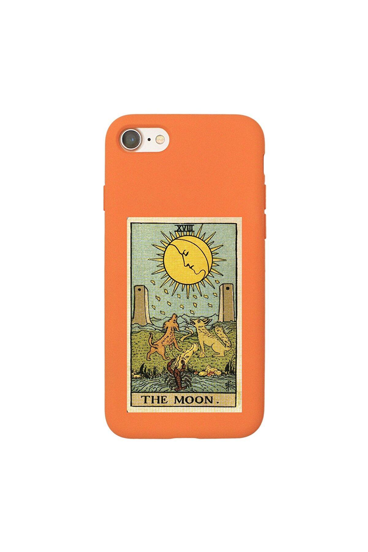 shoptocase Iphone 7 Lansman The Moon Desenli Telefon Kılıfı