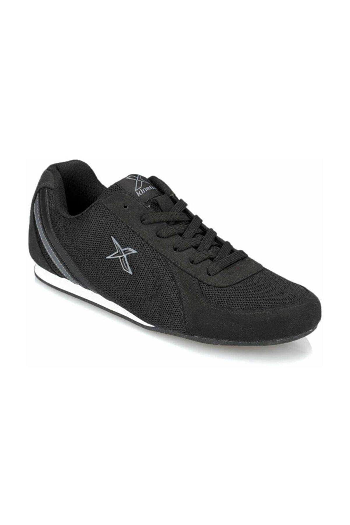 Kinetix Siyah Gri Erkek Sneaker Aidan