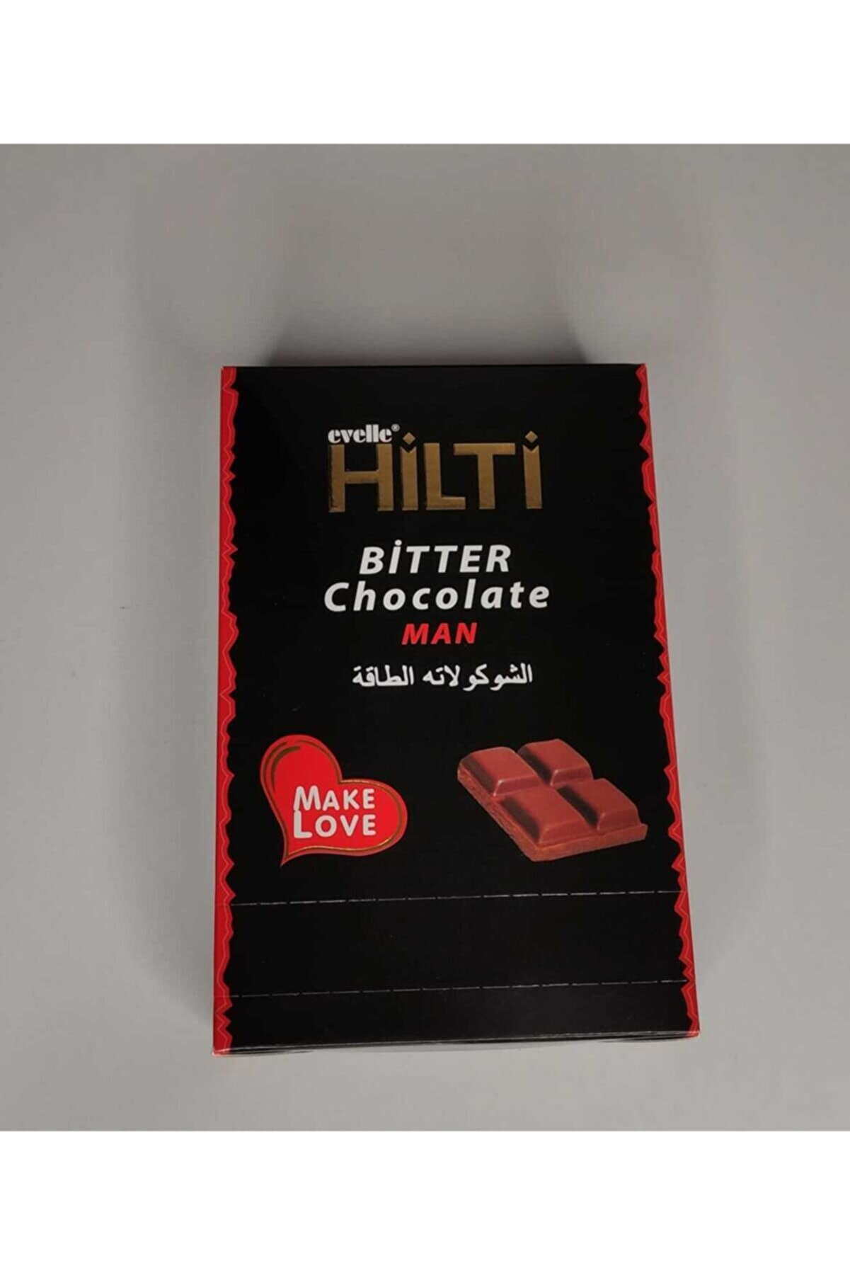 Wonderful Honey Hilti Make Love Erkekler Için Bitkisel Bitter Çikolata   Hiva Bitkisel