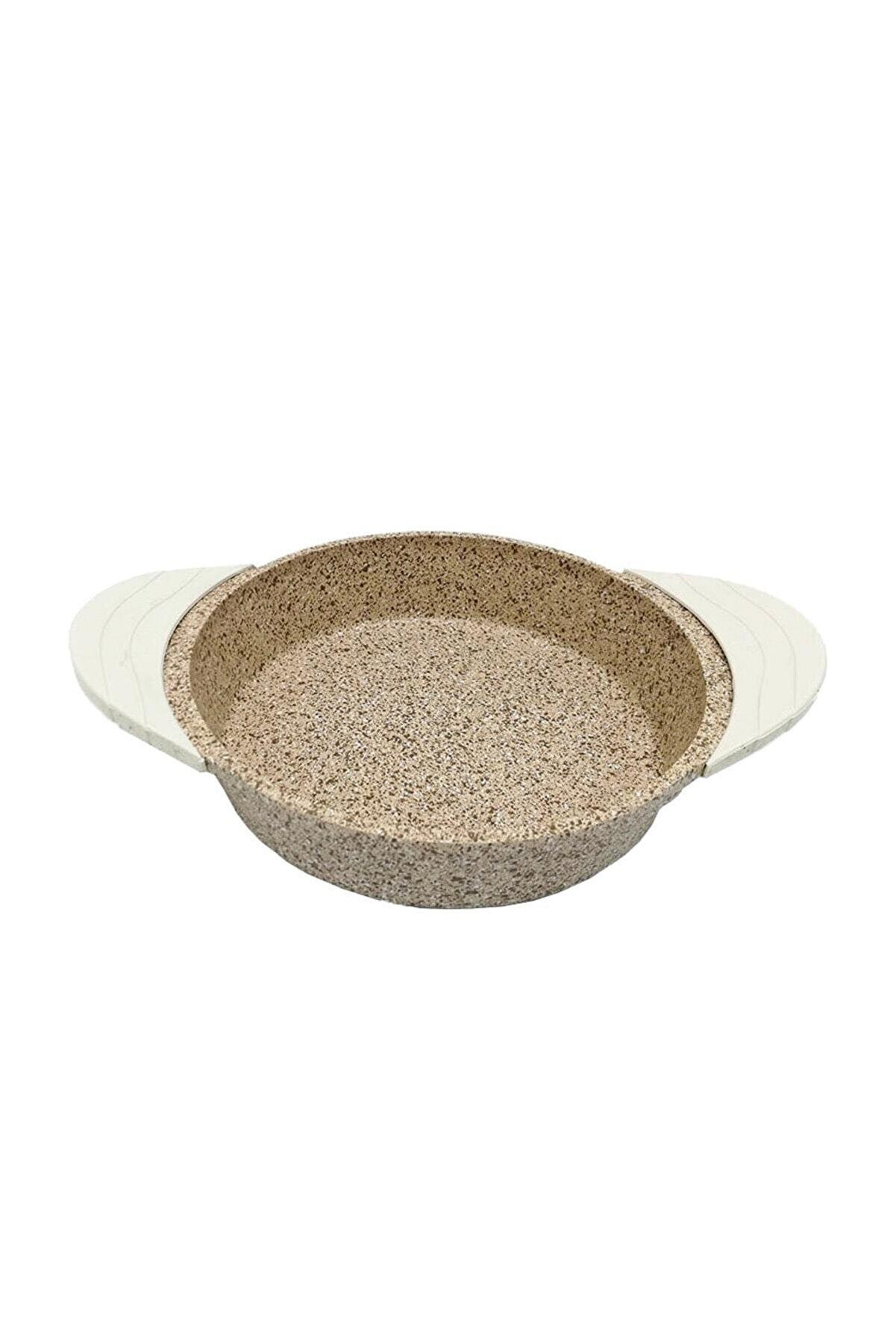 Falez Doacast Creamy 22 Cm Döküm Granit Sahan Tava